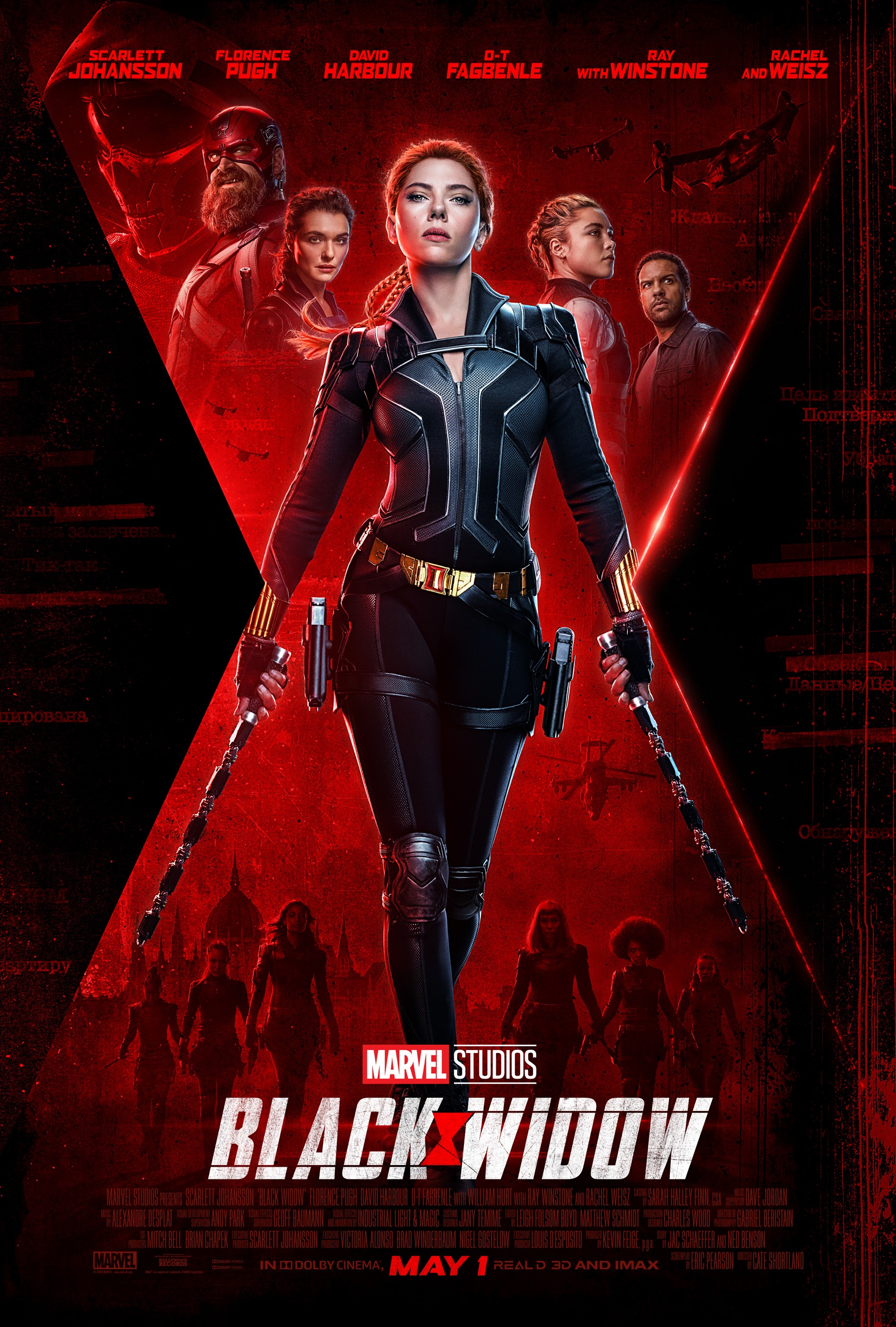Black Widow Movie Poster Marvel Cinematic Universe Portrait Display Movies Women Scarlett Johansson 1688x2500