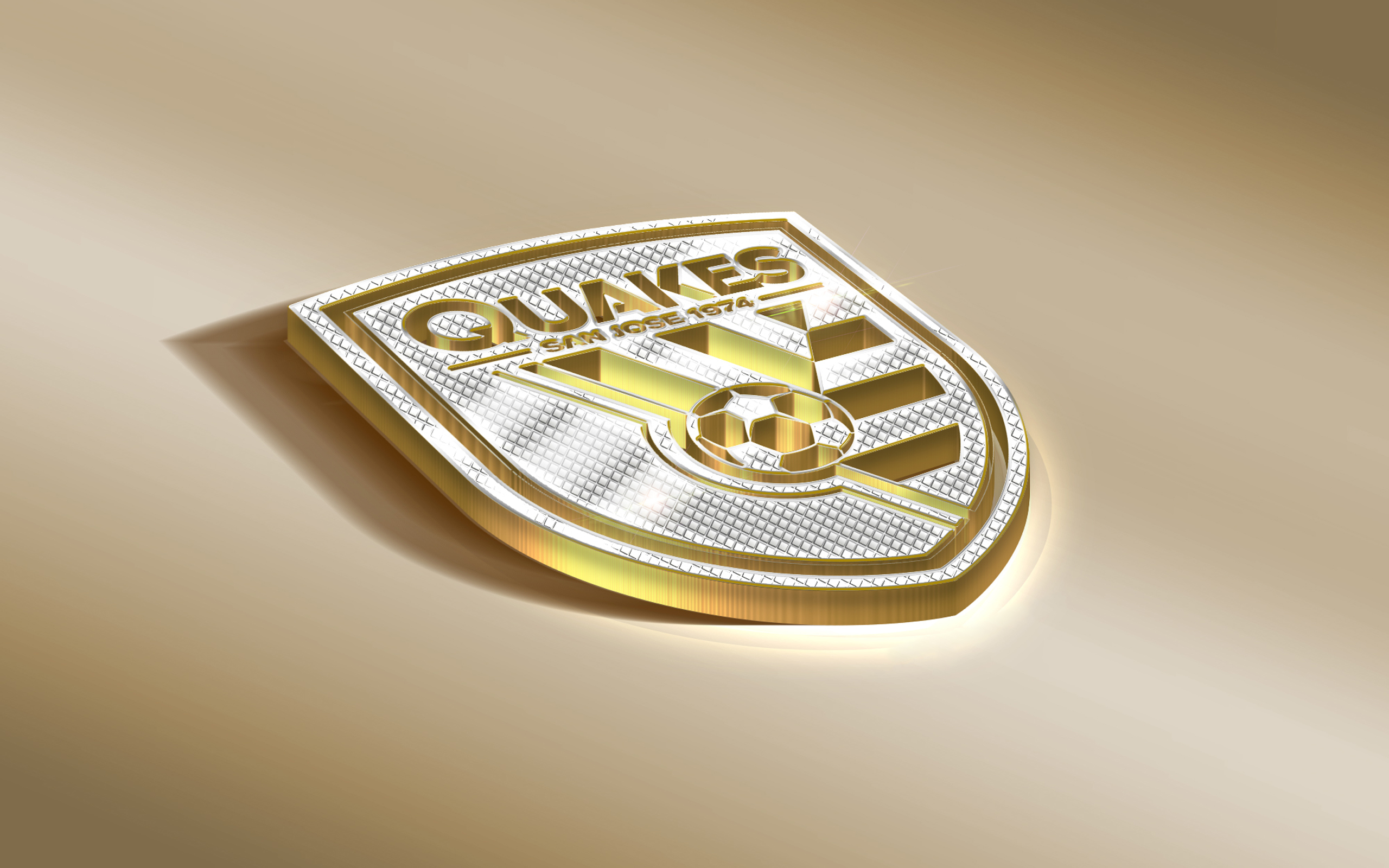 Emblem Logo Mls San Jose Earthquakes Soccer 2560x1600
