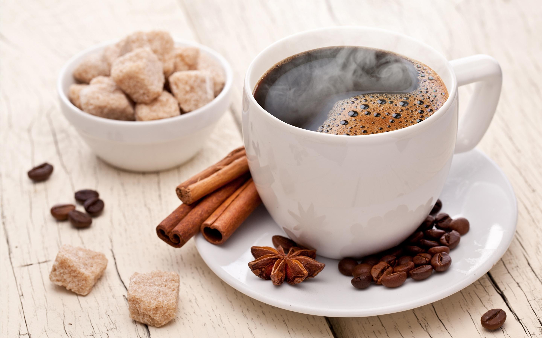 Cinnamon Coffee Cup Drink Sugar 2880x1800