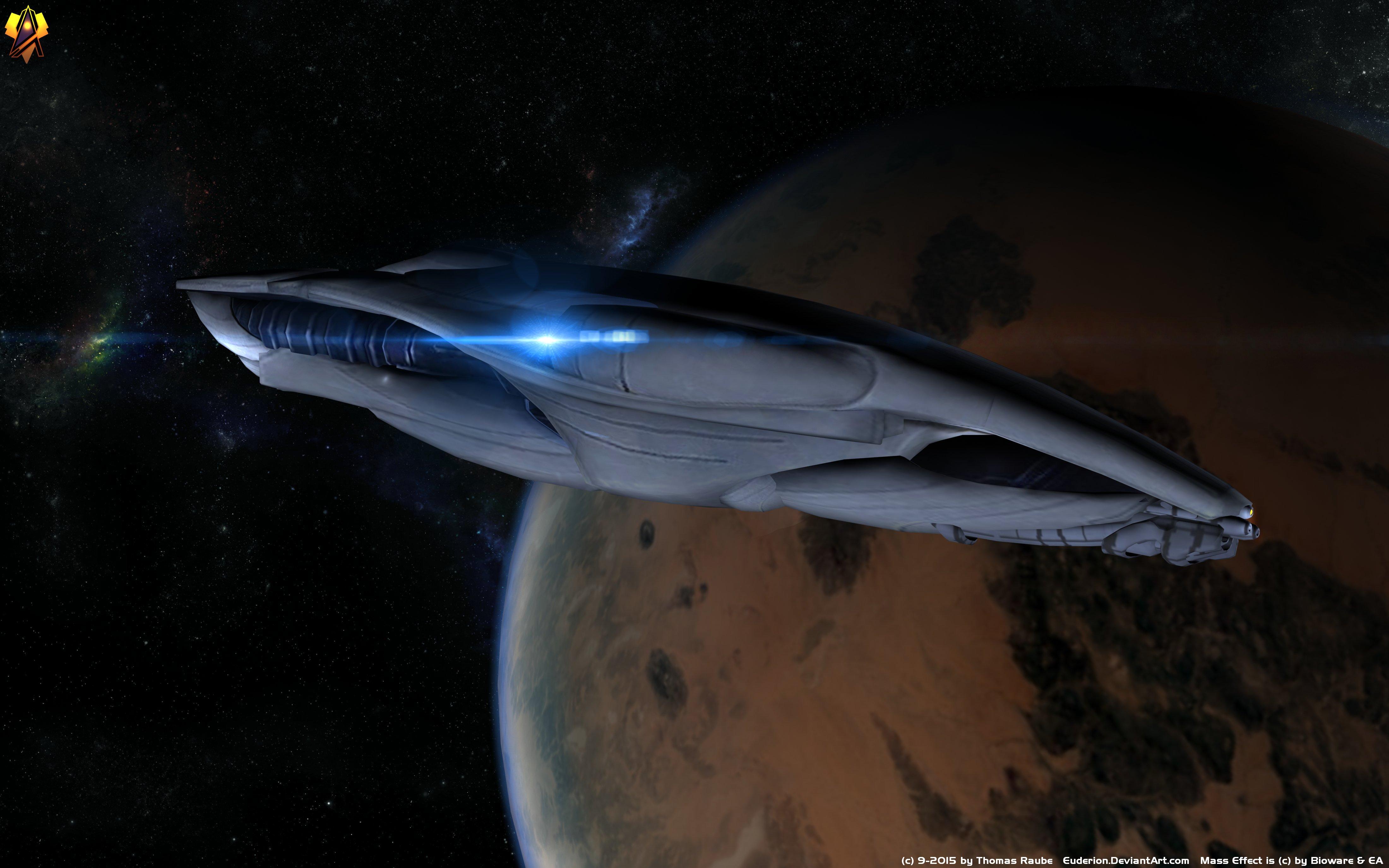 Frigate Mass Effect Salarian Mass Effect Starship 4400x2750
