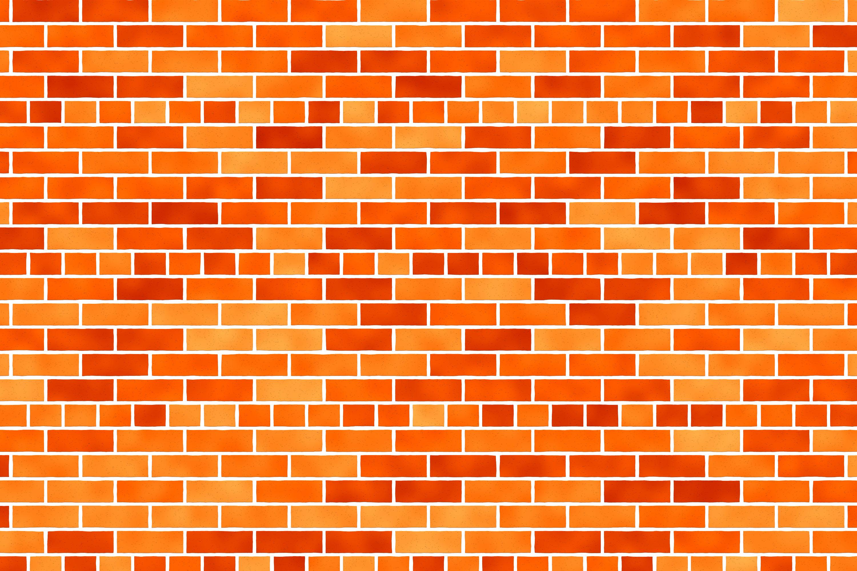 Brick Texture Orange Color 3000x2000