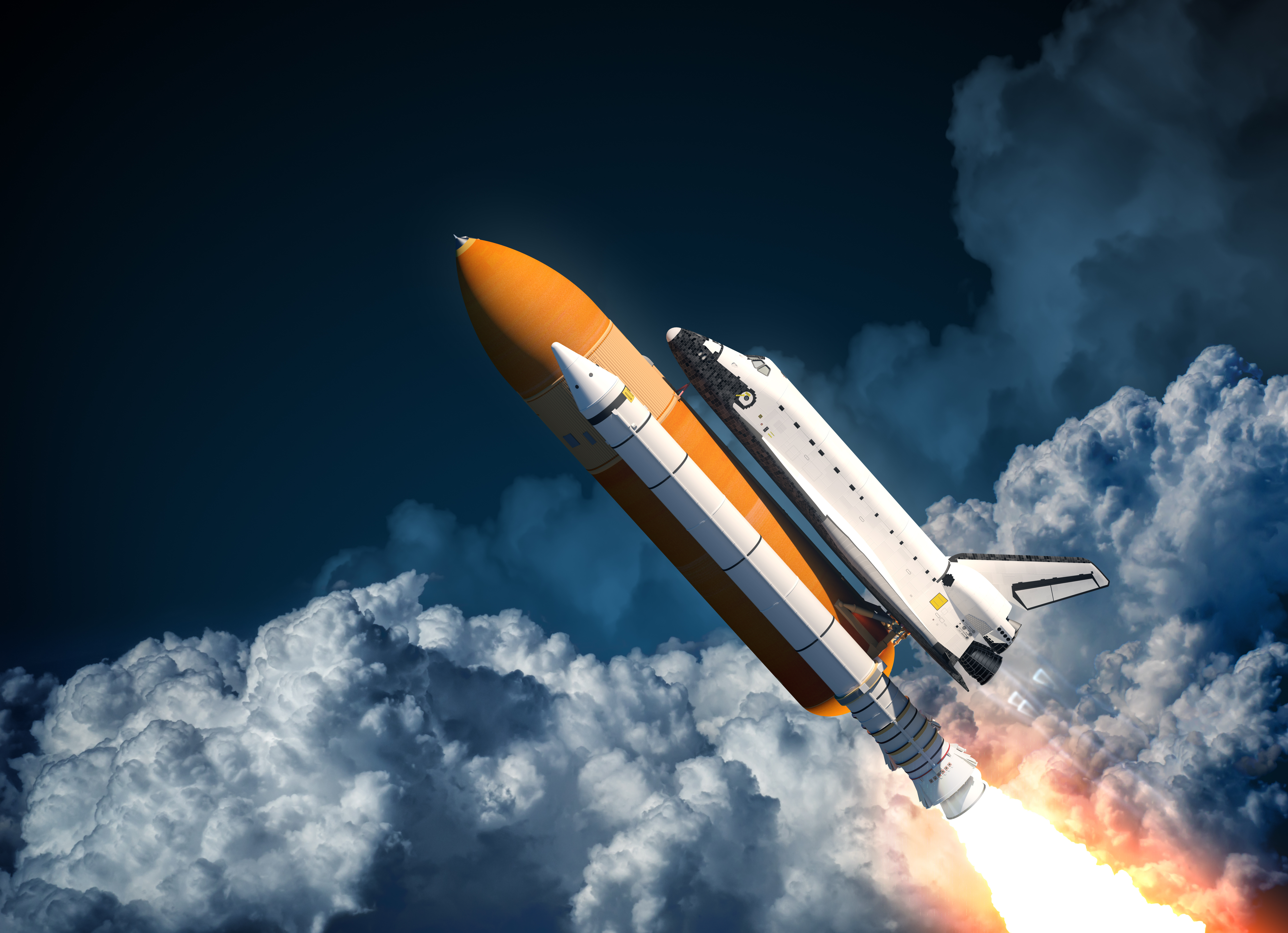 Vehicles Space Shuttle 5800x4200