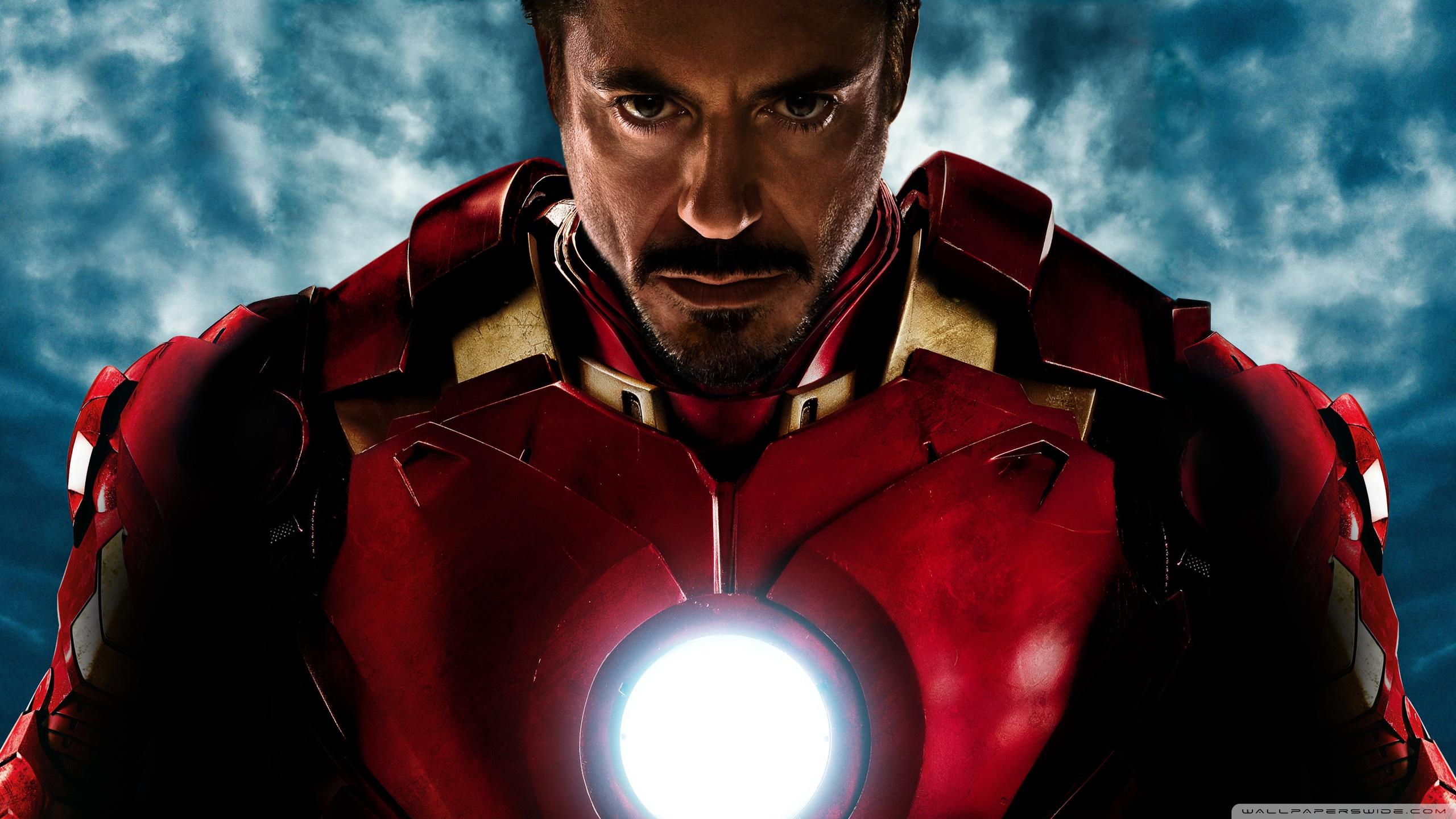 Iron Man Robert Downey Jr 2560x1440