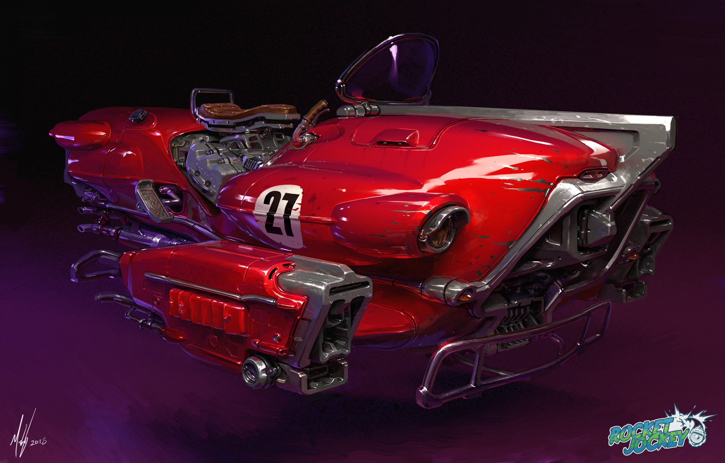Flying Car Futuristic Digital Art Digital Painting Fan Art Artwork 2402x1535