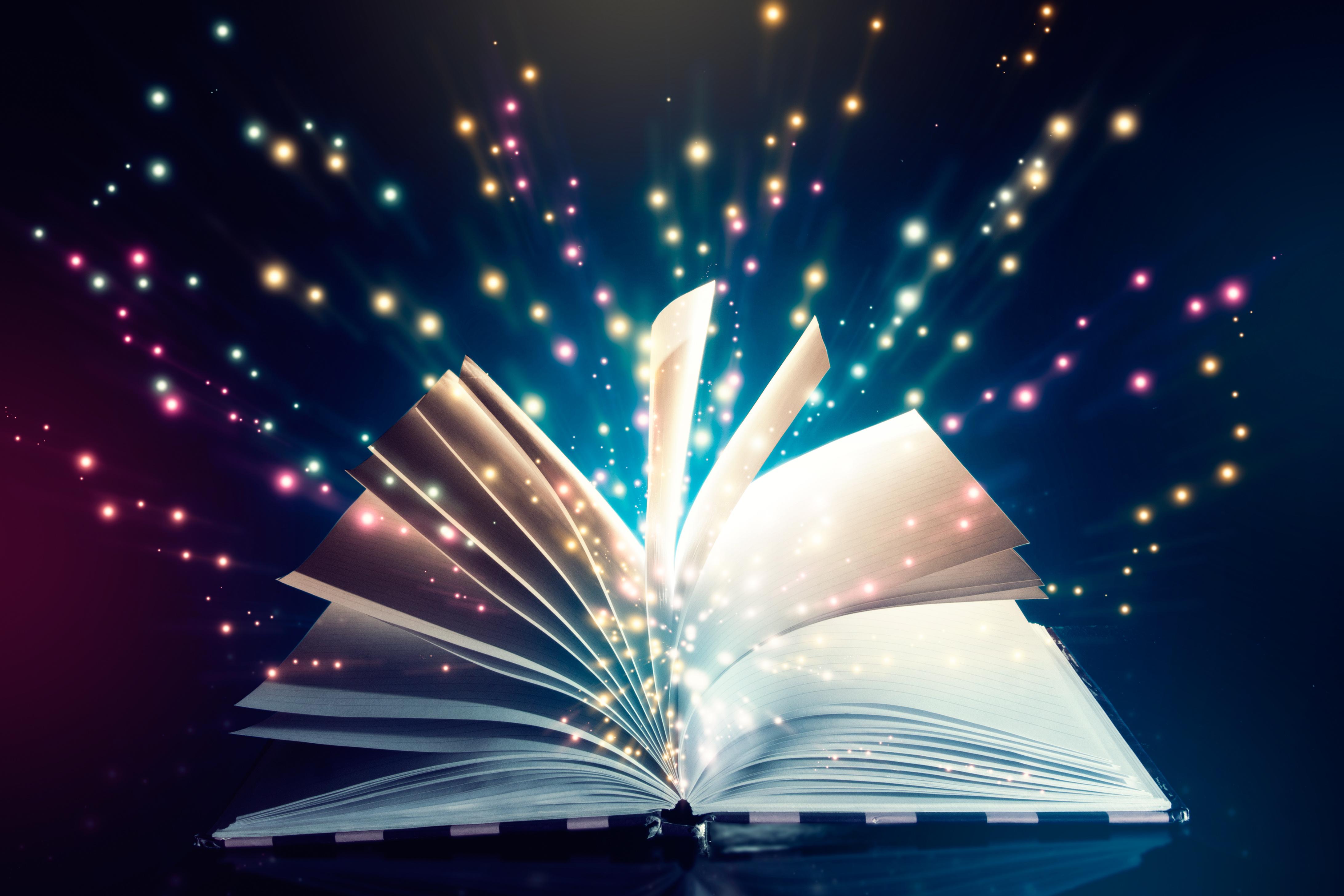 Fantasy Book 4367x2911