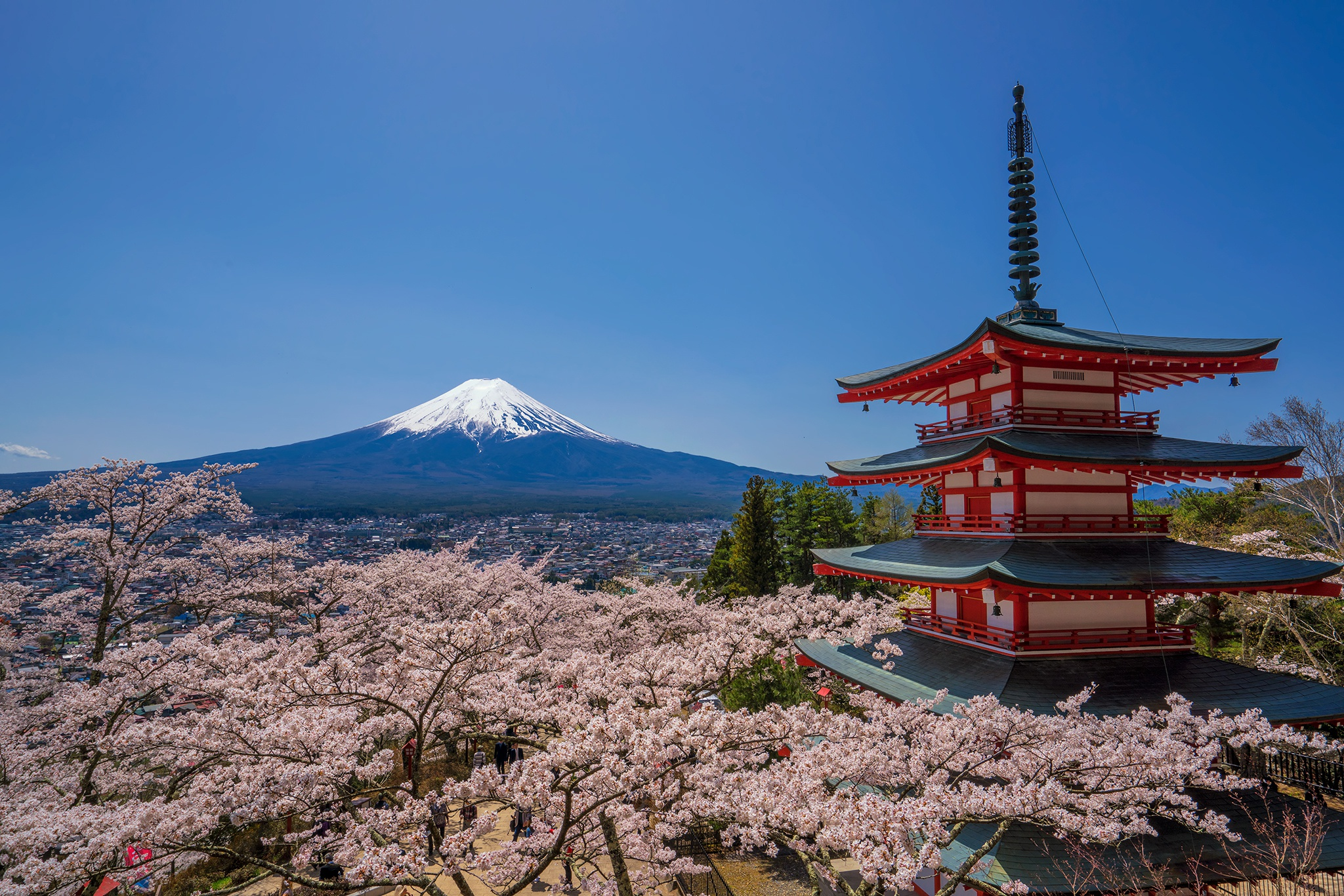 Earth Mount Fuji 2048x1366