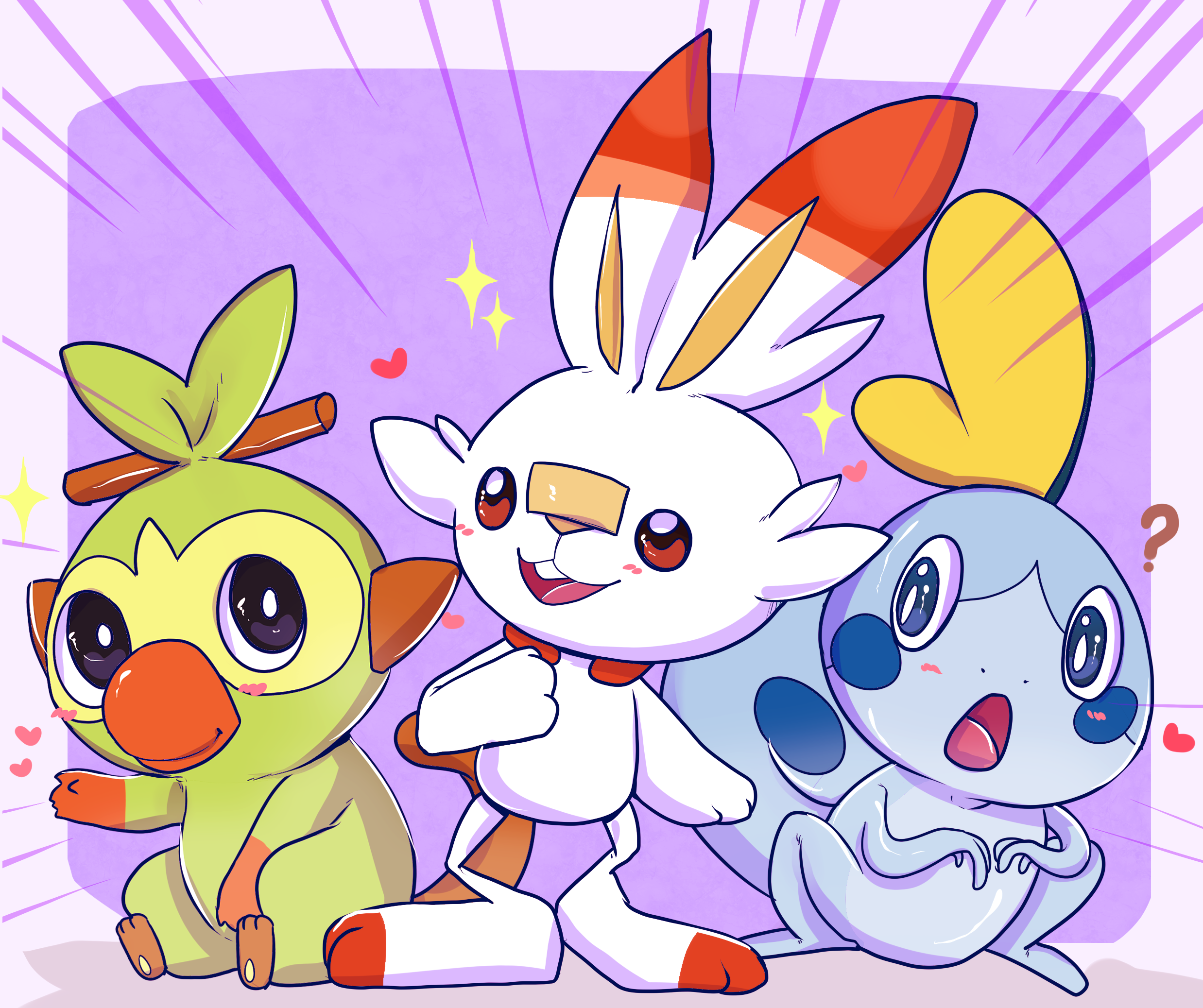 Grookey Pokemon Pokemon Sword And Shield Scorbunny Pokemon Sobble Pokemon Wallpaper Resolution 2476x2075 Id 1138831 Wallha Com Check out inspiring examples of grookey_pokemon artwork on deviantart, and get inspired by our community of talented artists. wallha com
