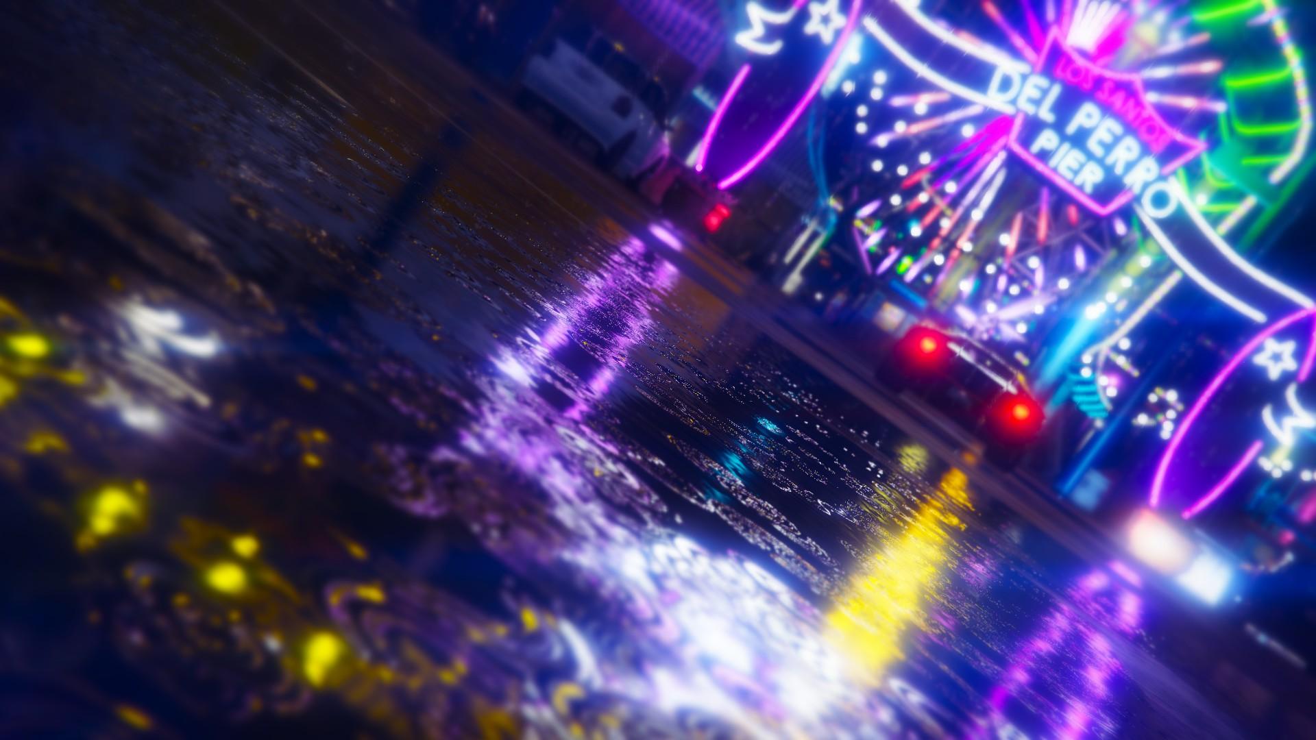 Grand Theft Auto V Light Reflection 1920x1080