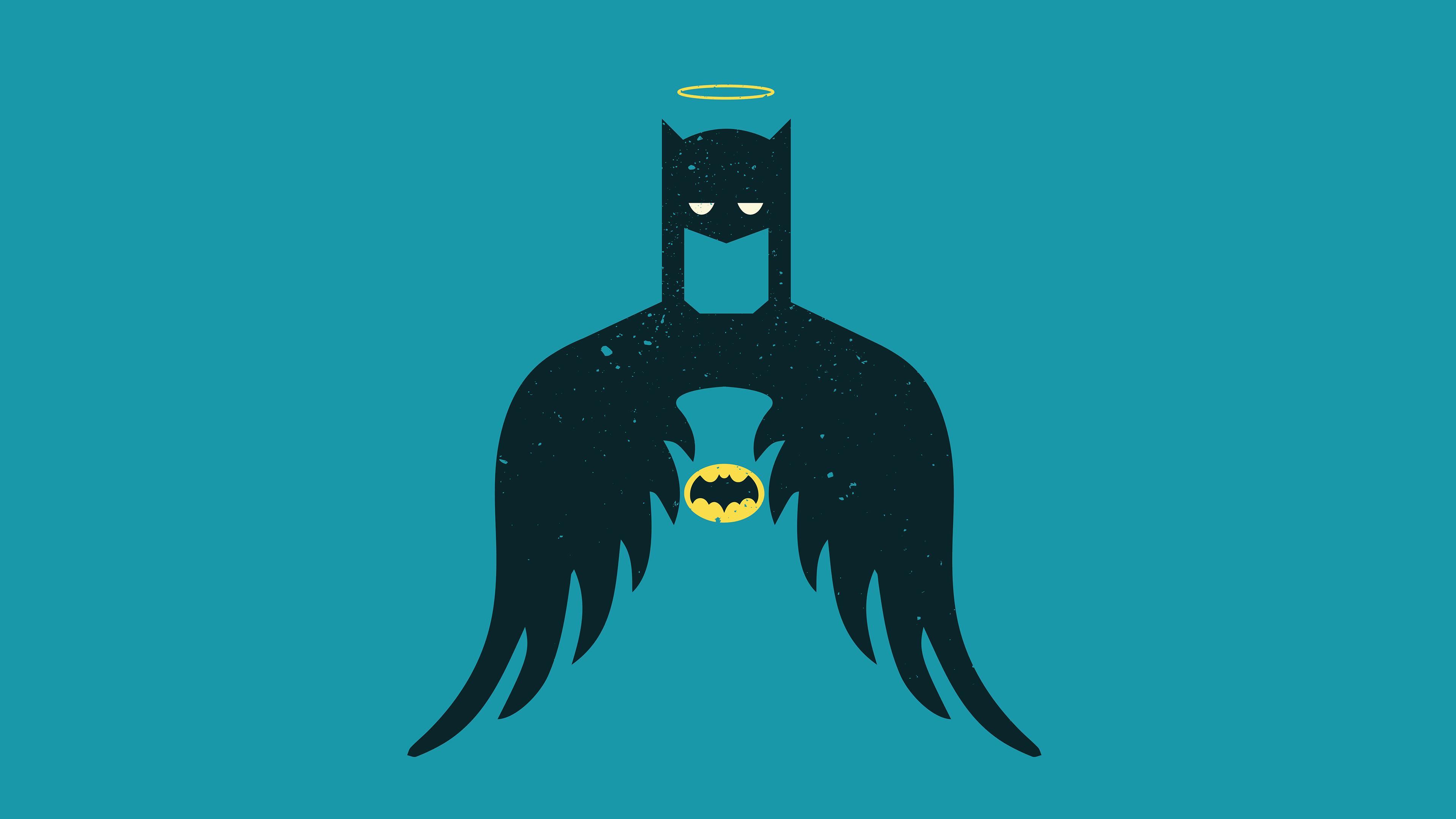 Batman Dc Comics Minimalist 3840x2160
