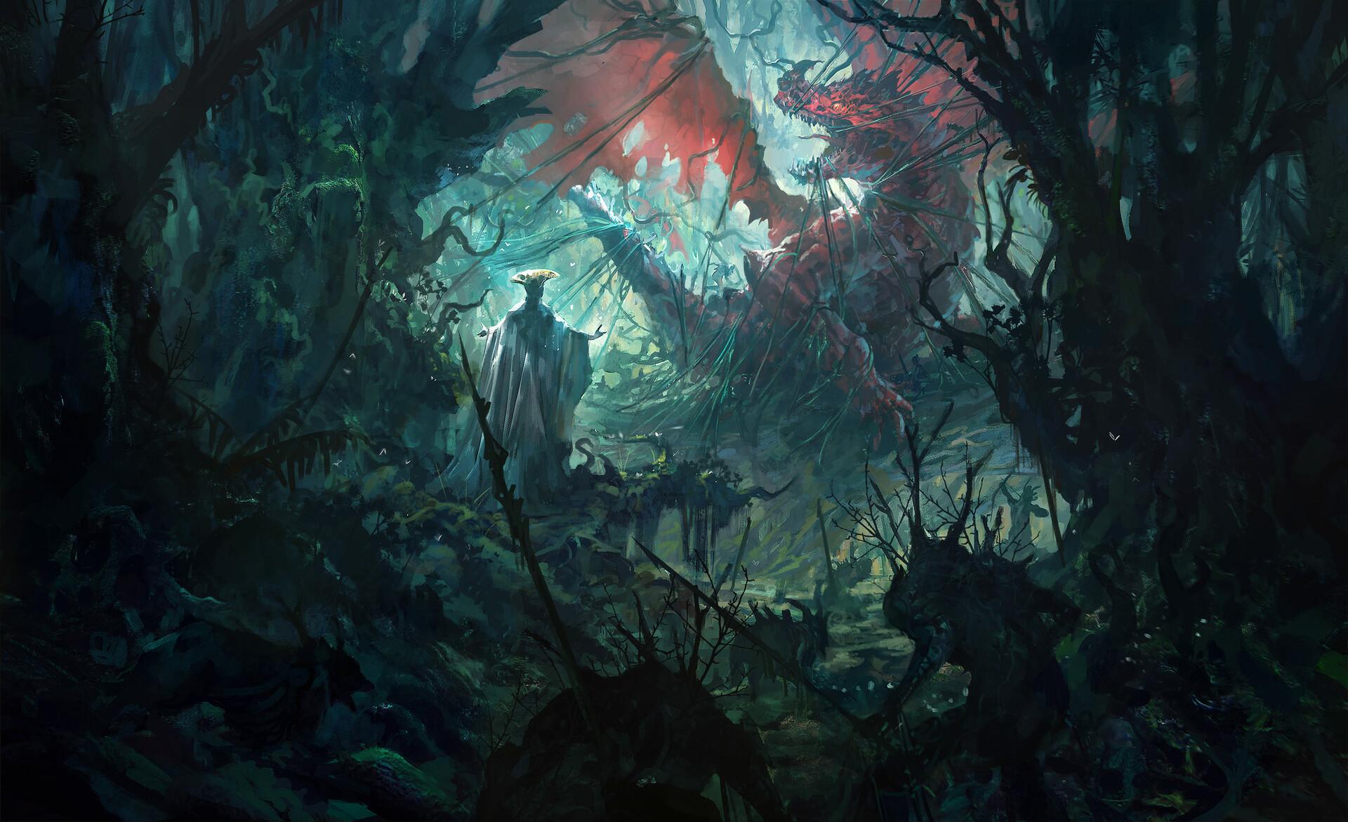Concept Art Forest 1920x1171