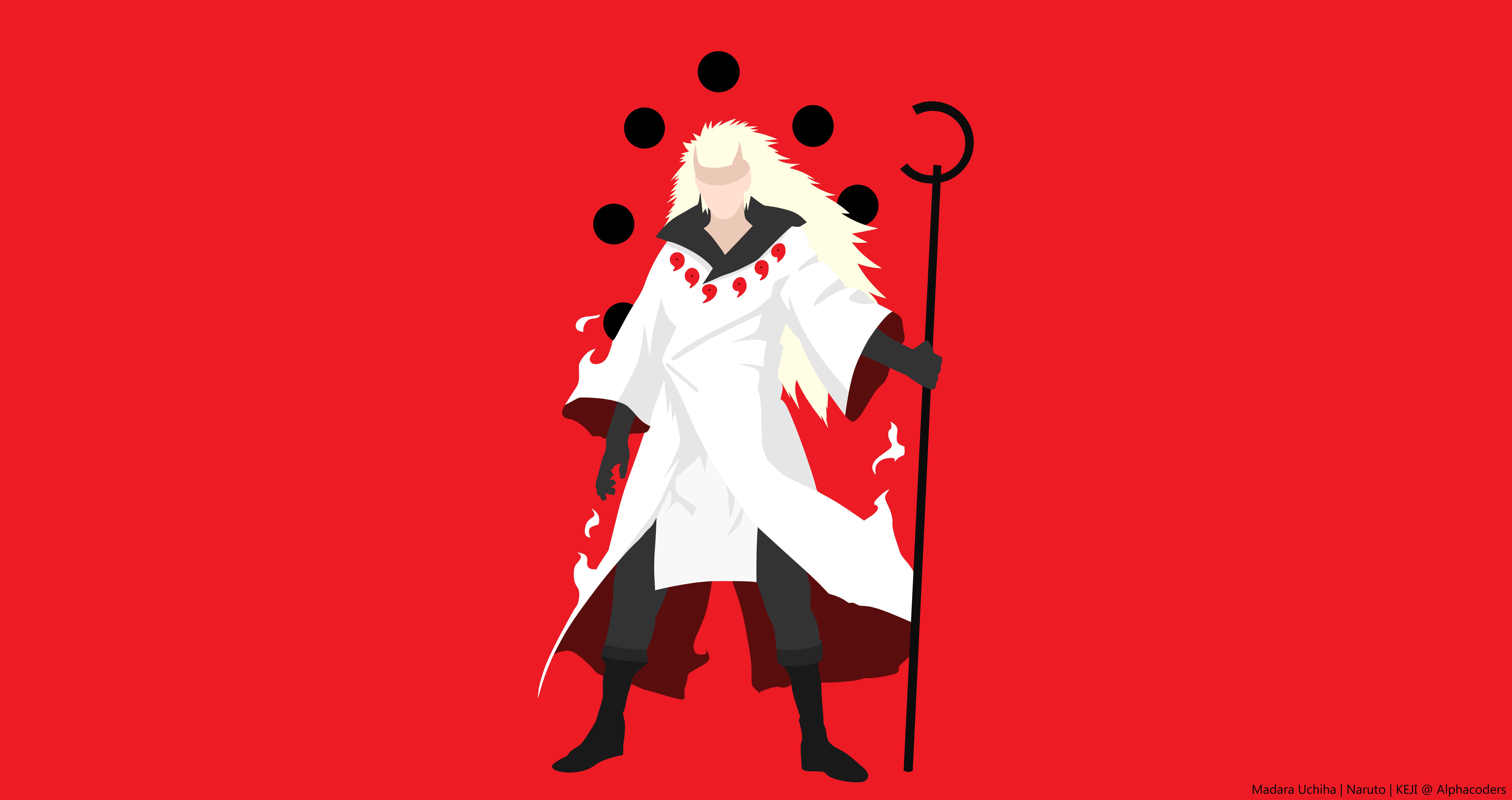 Boy Madara Uchiha Minimalist Naruto Sage Naruto Uchiha Clan 8500x4500