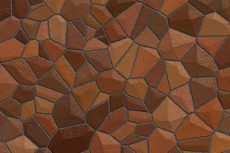 Brown Mosaic Pattern Texture 3000x2000