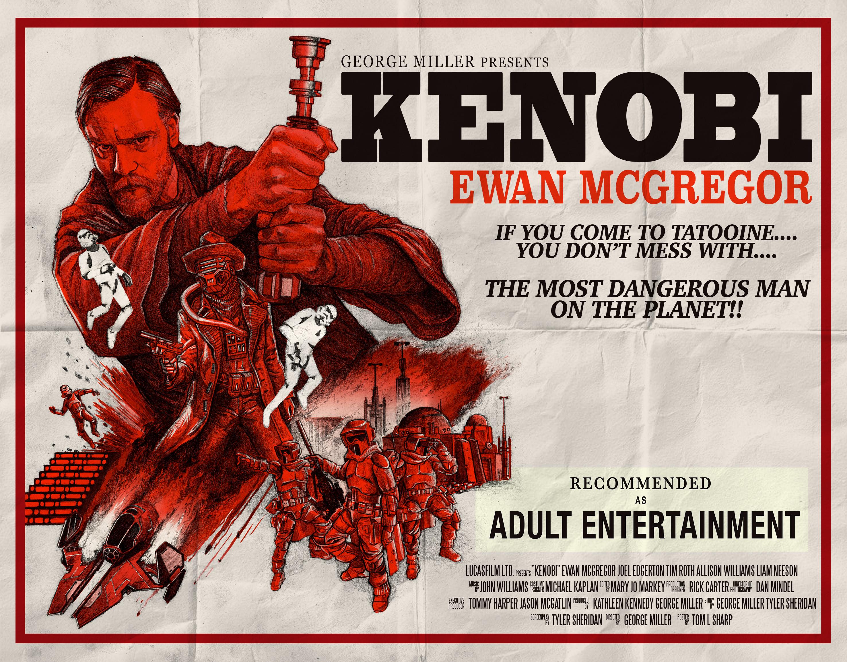 Ewan Mcgregor Obi Wan Kenobi Stormtrooper 2952x2307