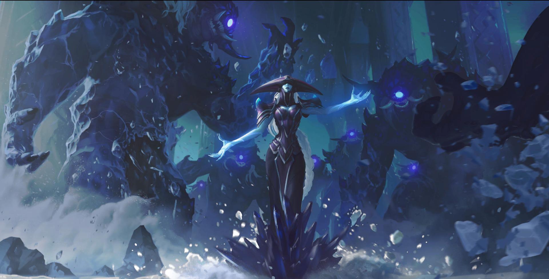 League Of Legends Legends Of Runeterra PC Gaming Video Game Art Fantasy Art Fantasy Girl 1920x976