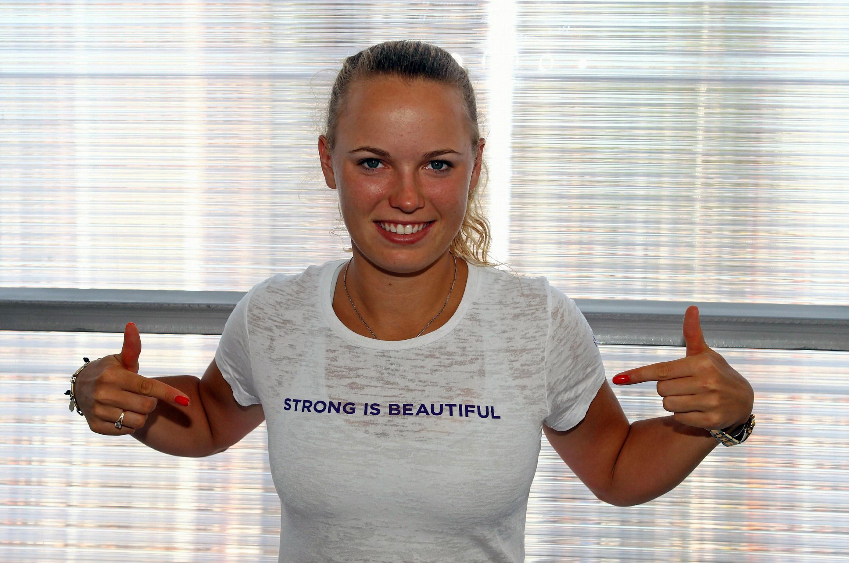 Caroline Wozniacki Danish Tennis 2784x1845