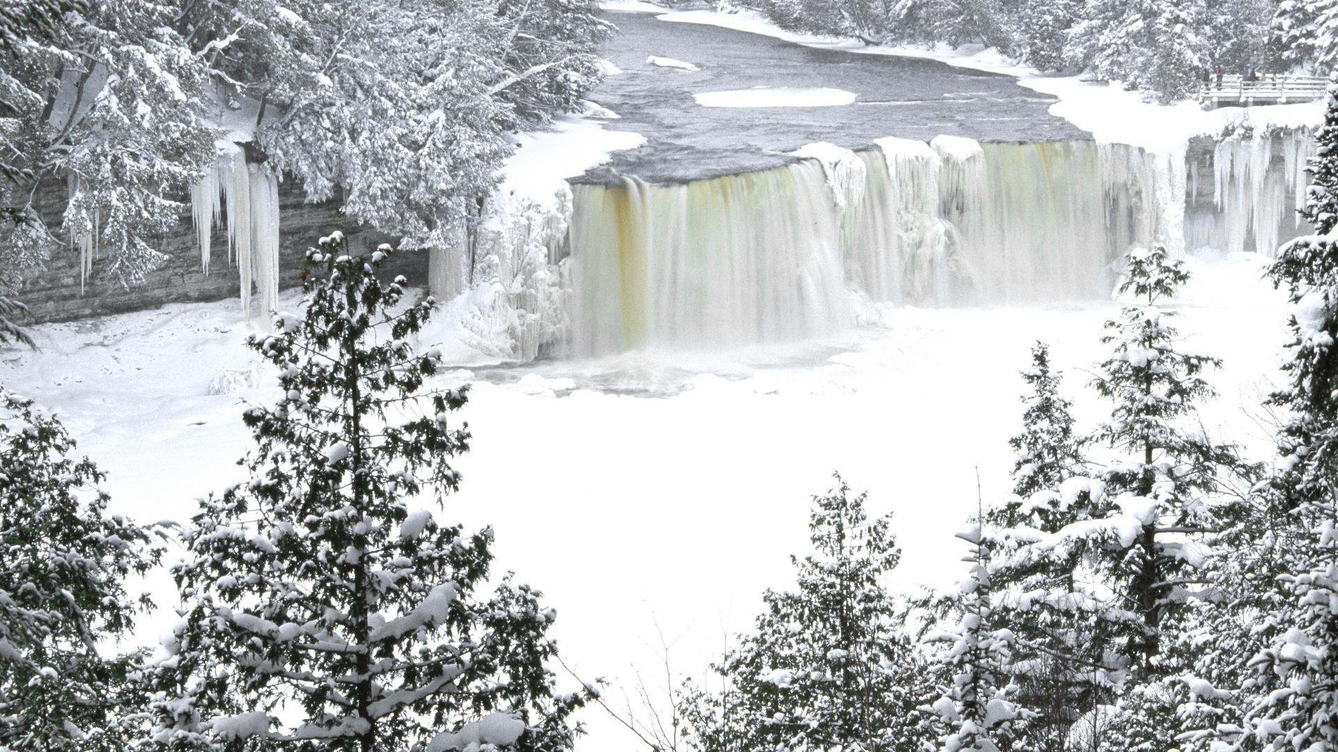 Earth Waterfall 1920x1080
