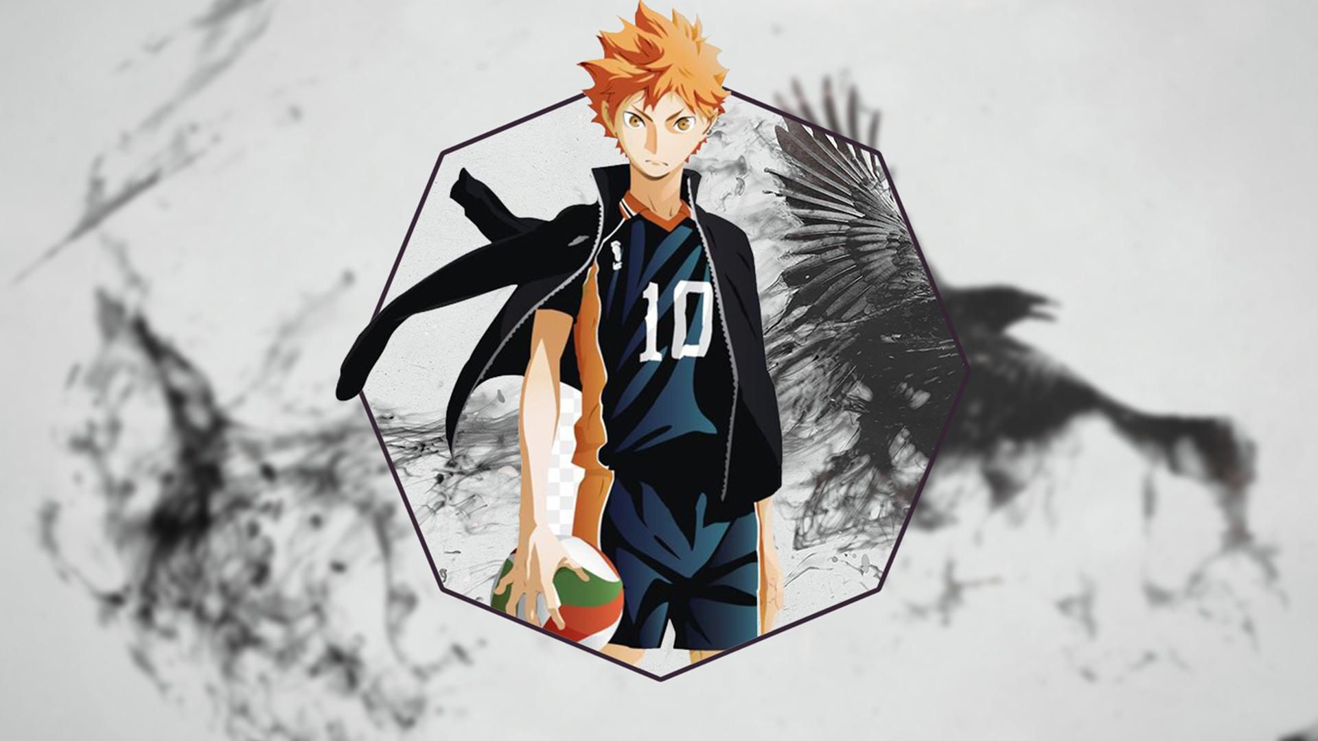 Haikyuu Hinata Shouyou Raven Voleibol 1920x1080