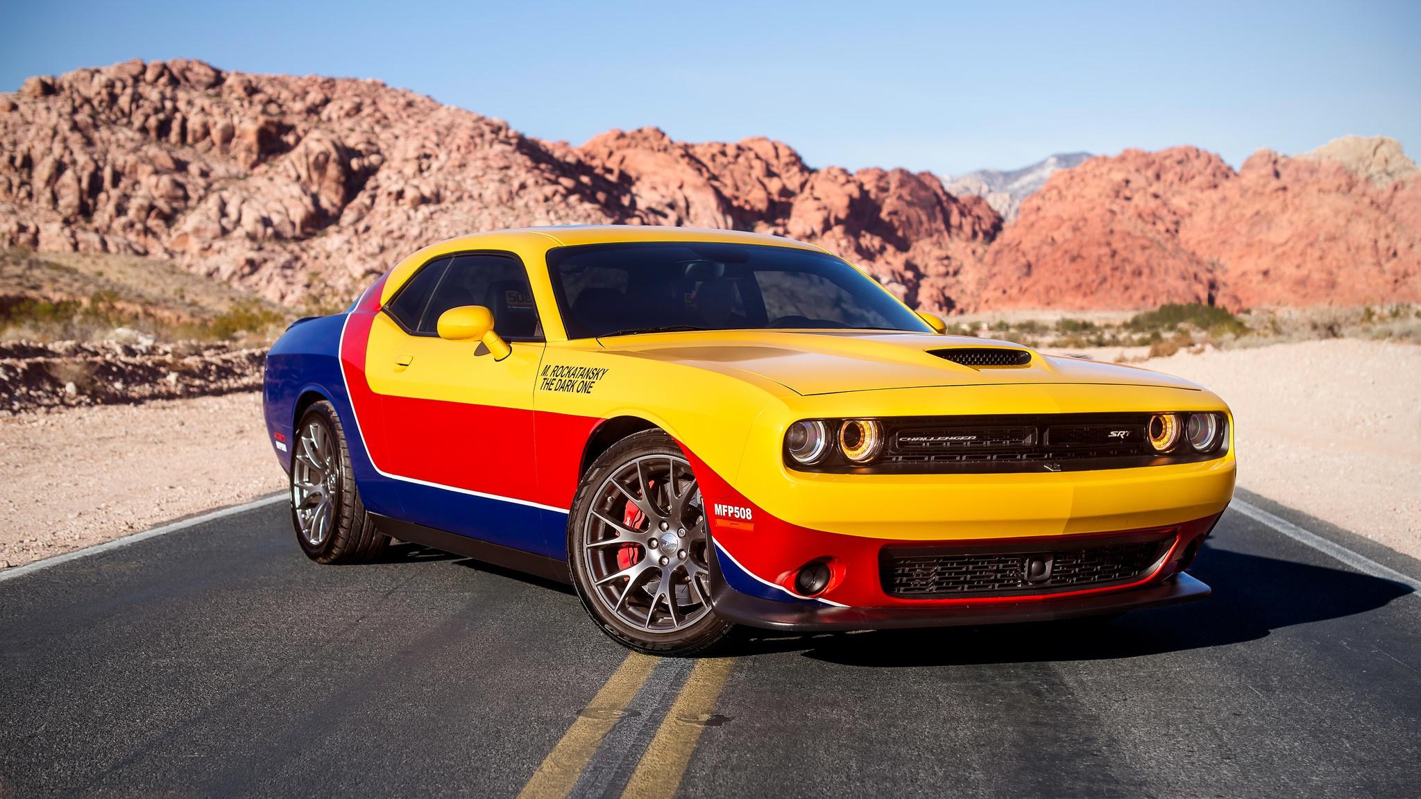 Car Dodge Dodge Challenger Muscle Car Vehicle 2048x1152