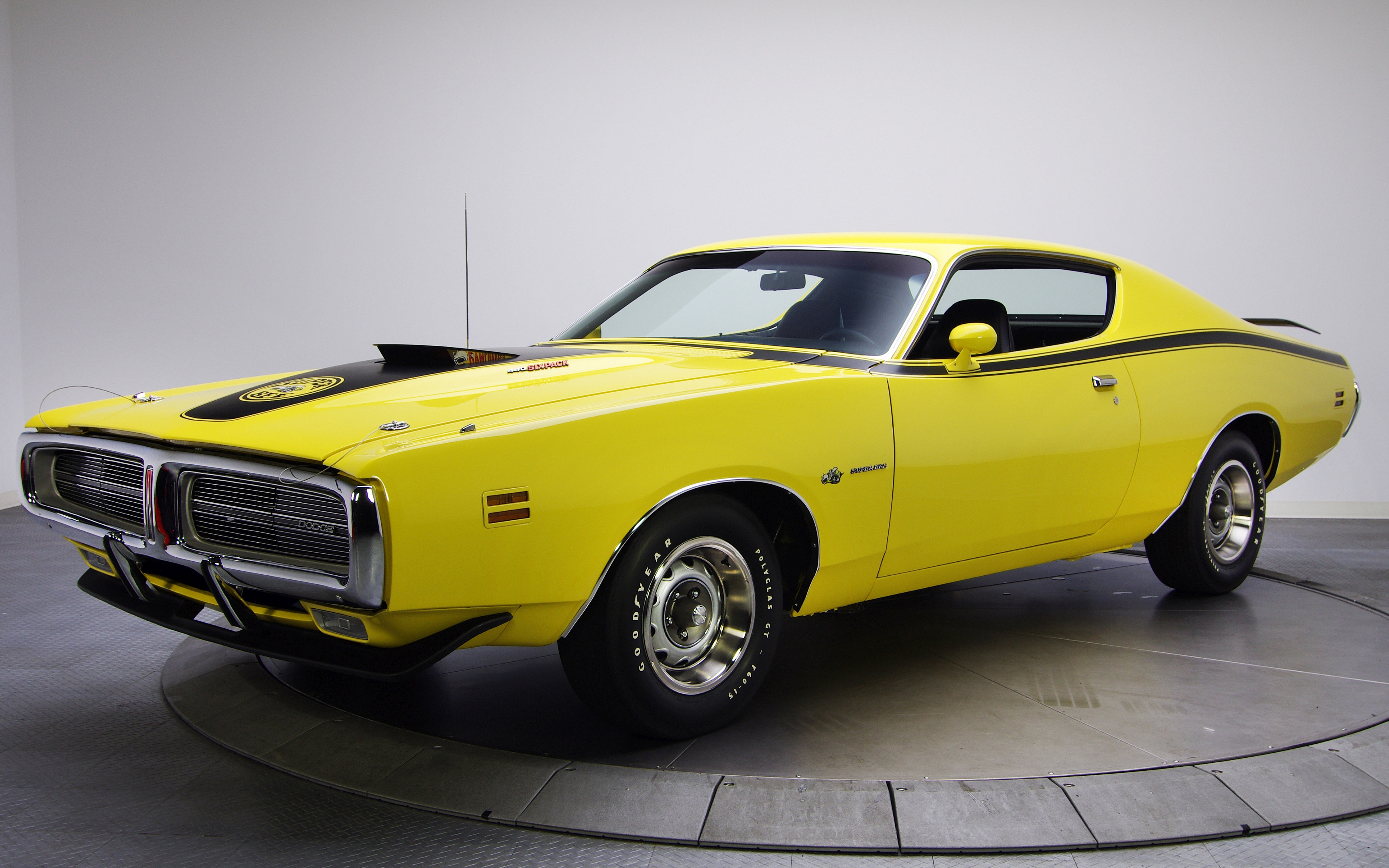 Dodge Dodge Charger Dodge Super Bee Yellow Car 3840x2400
