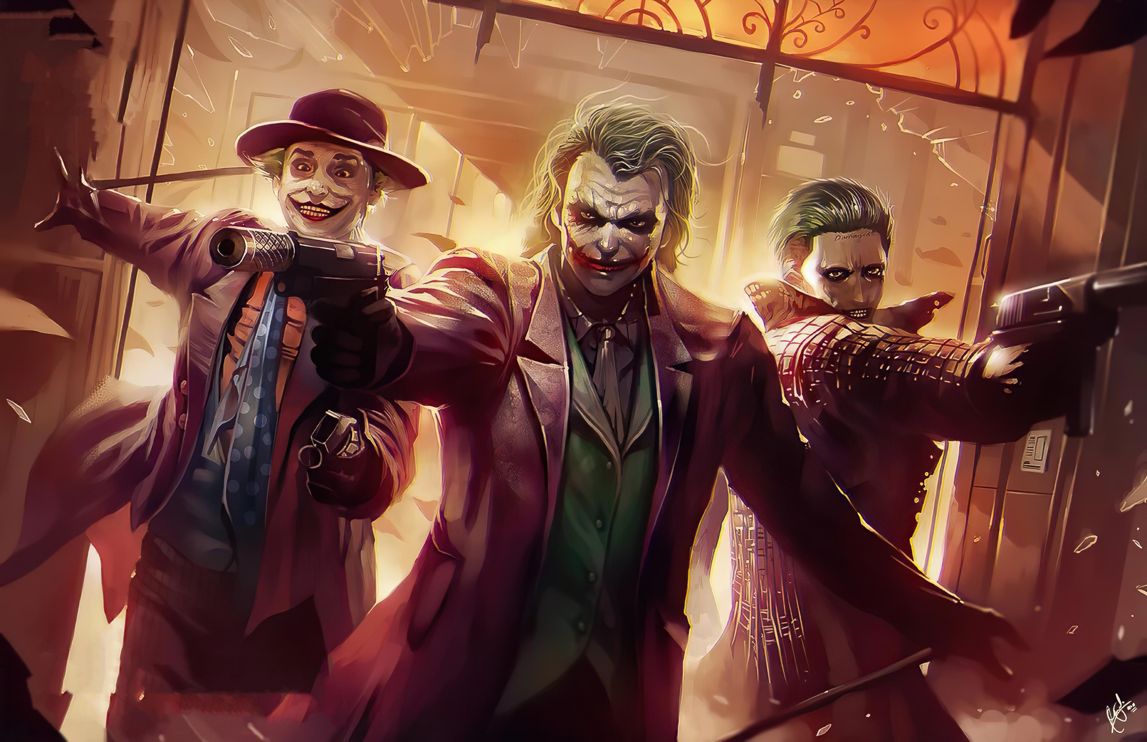 Dc Comics Joker 3840x2485