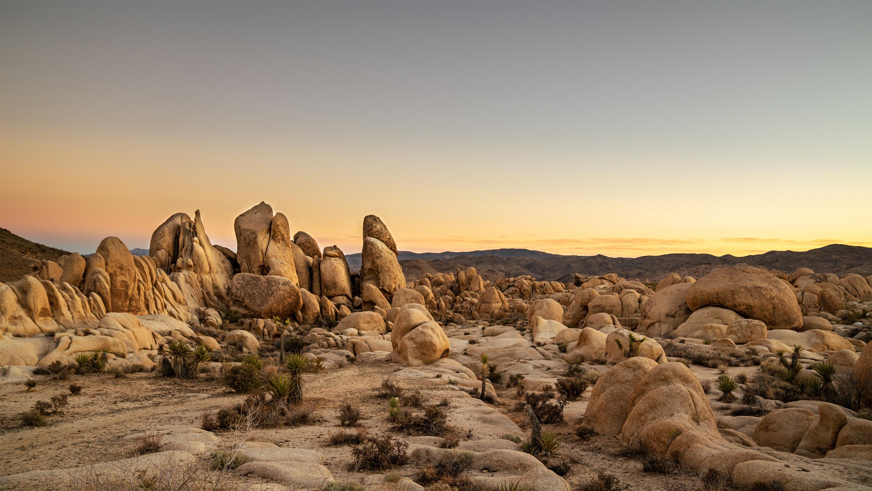Landscape Nature Desert USA 3000x1688