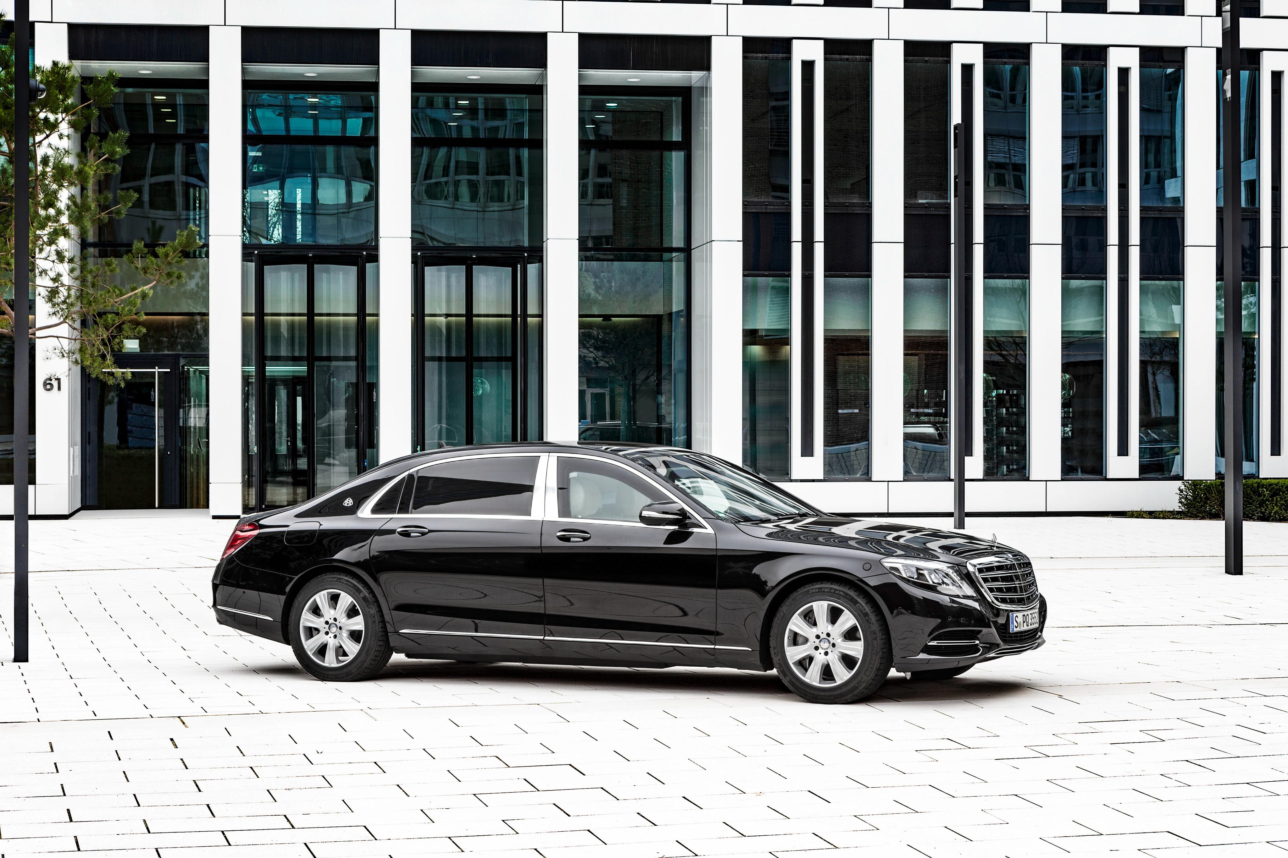 Black Car Car Luxury Car Mercedes Benz Mercedes Benz S Class Vehicle 4096x2731