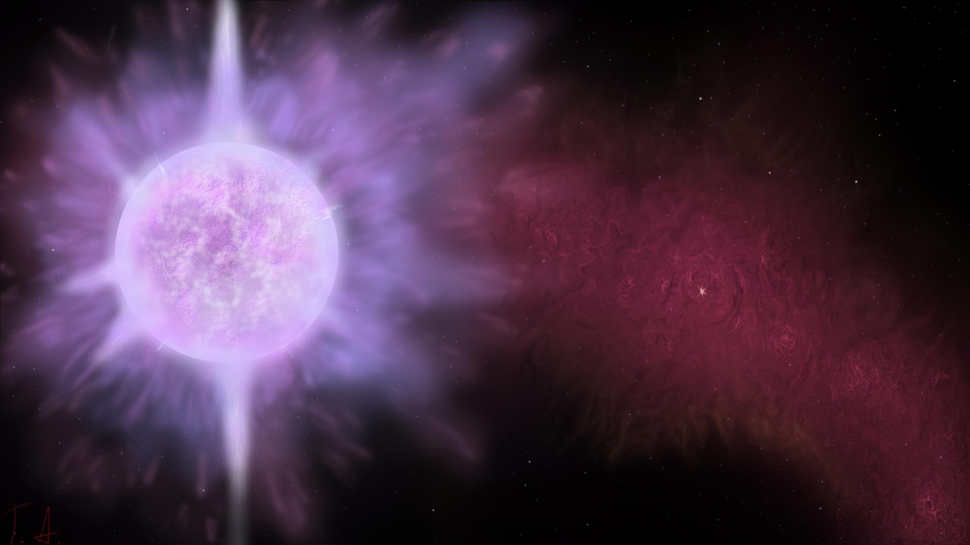 Sci Fi Space Star Sun 1920x1080