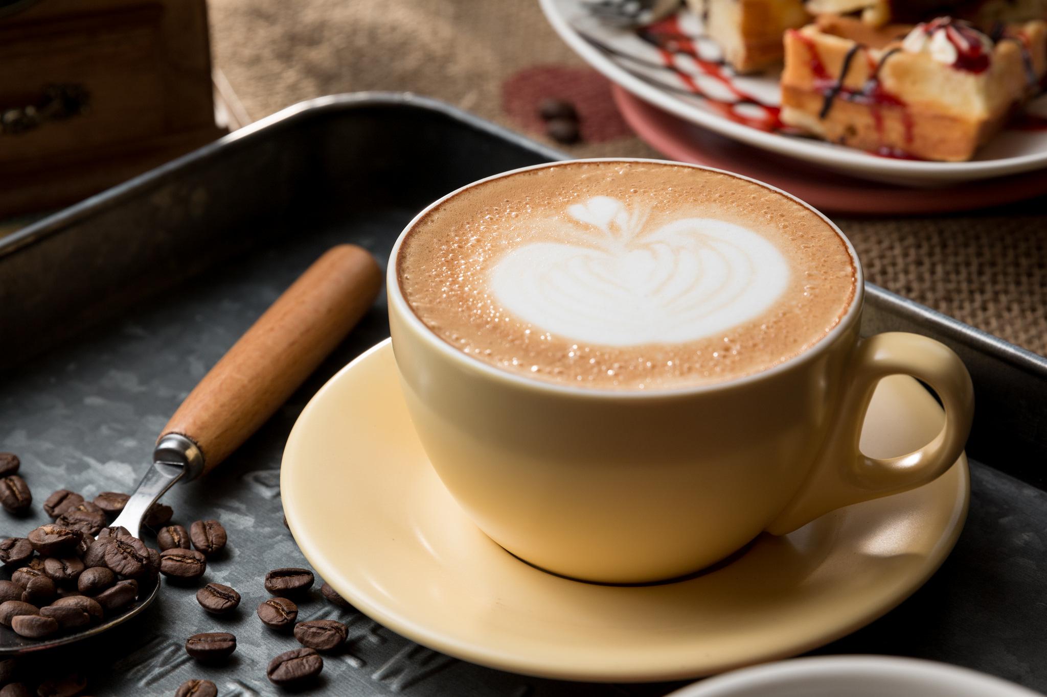 Coffee Coffee Beans Cup 2048x1365
