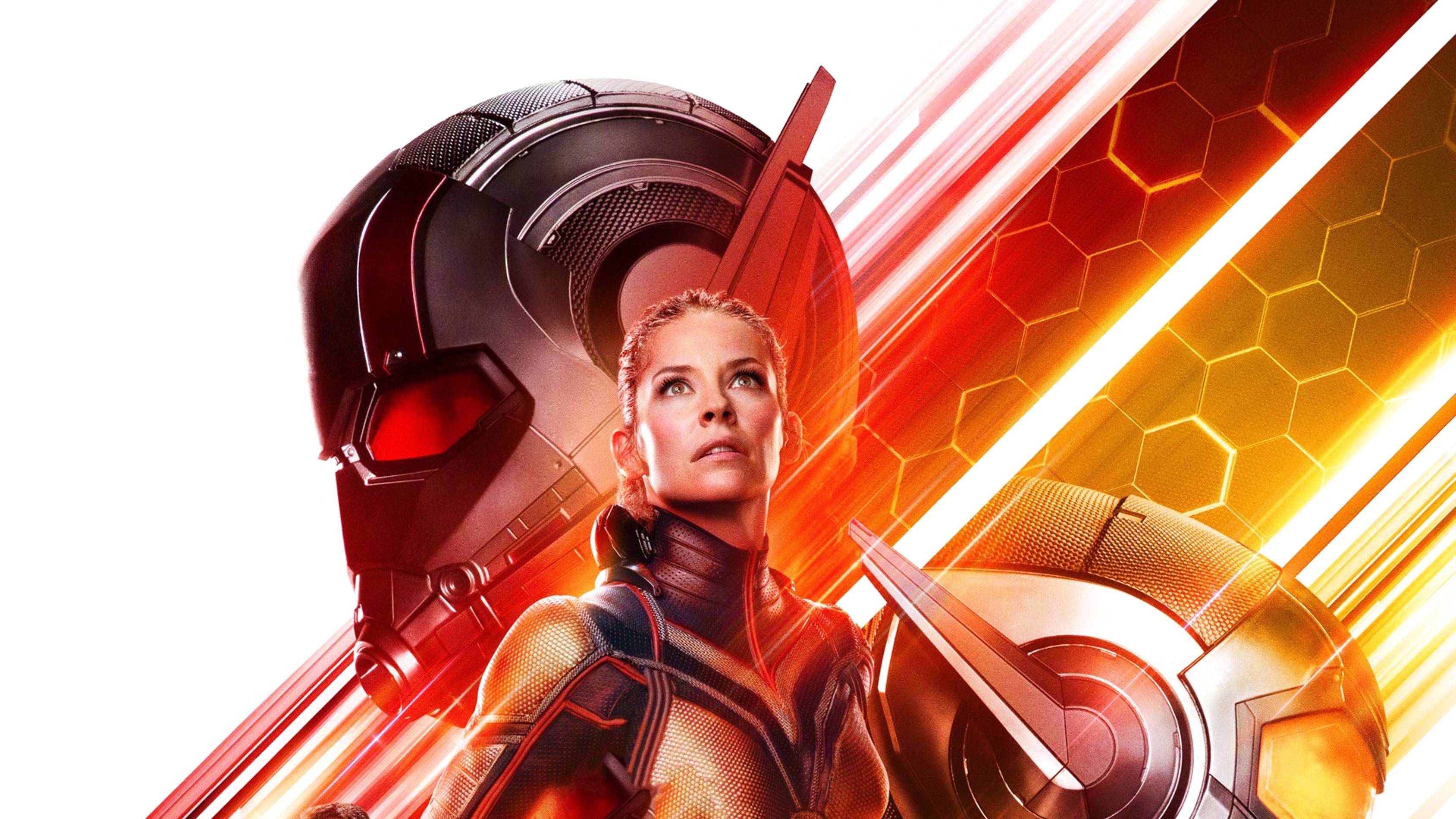 Ant Man Ant Man And The Wasp Evangeline Lilly Hope Pym Wasp Marvel Comics 3376x1899