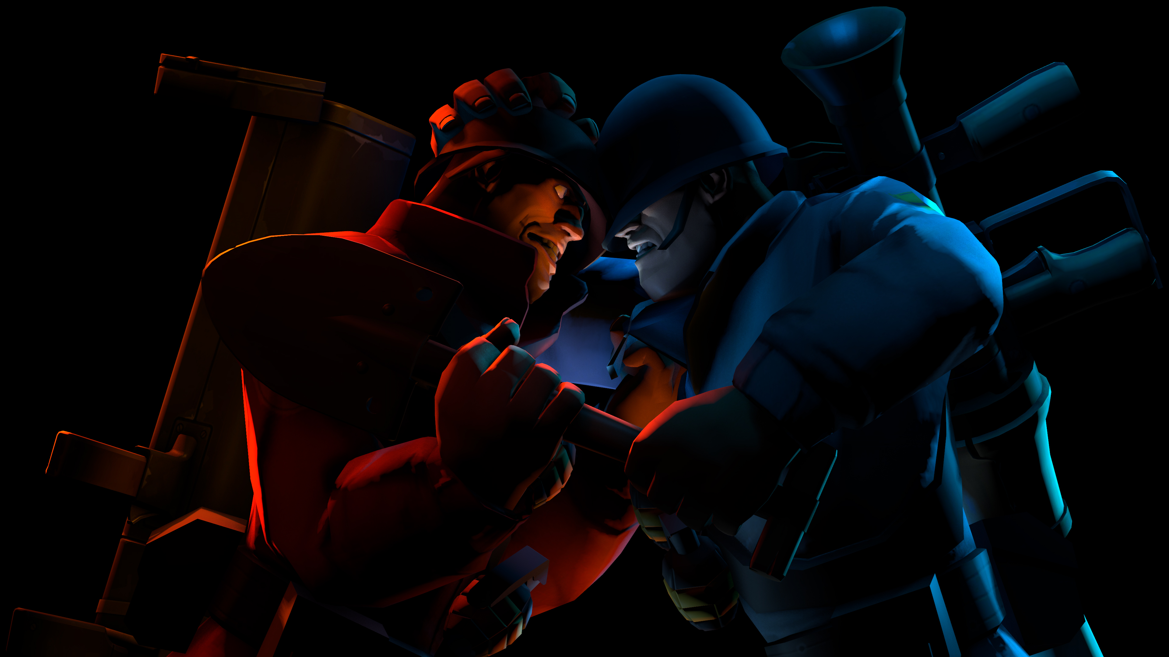 Video Game Team Fortress 2 3840x2160