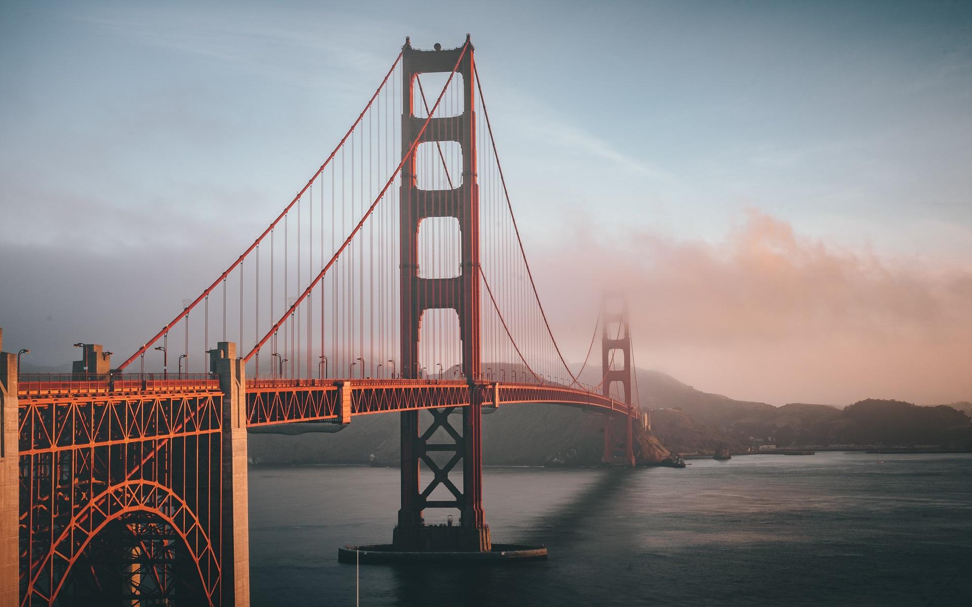 Bridge Golden Gate Bridge Architecture USA San Francisco 1920x1200