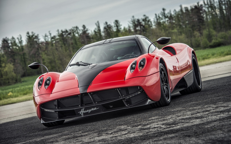 Car Pagani Red Car Sport Car Supercar 2880x1800
