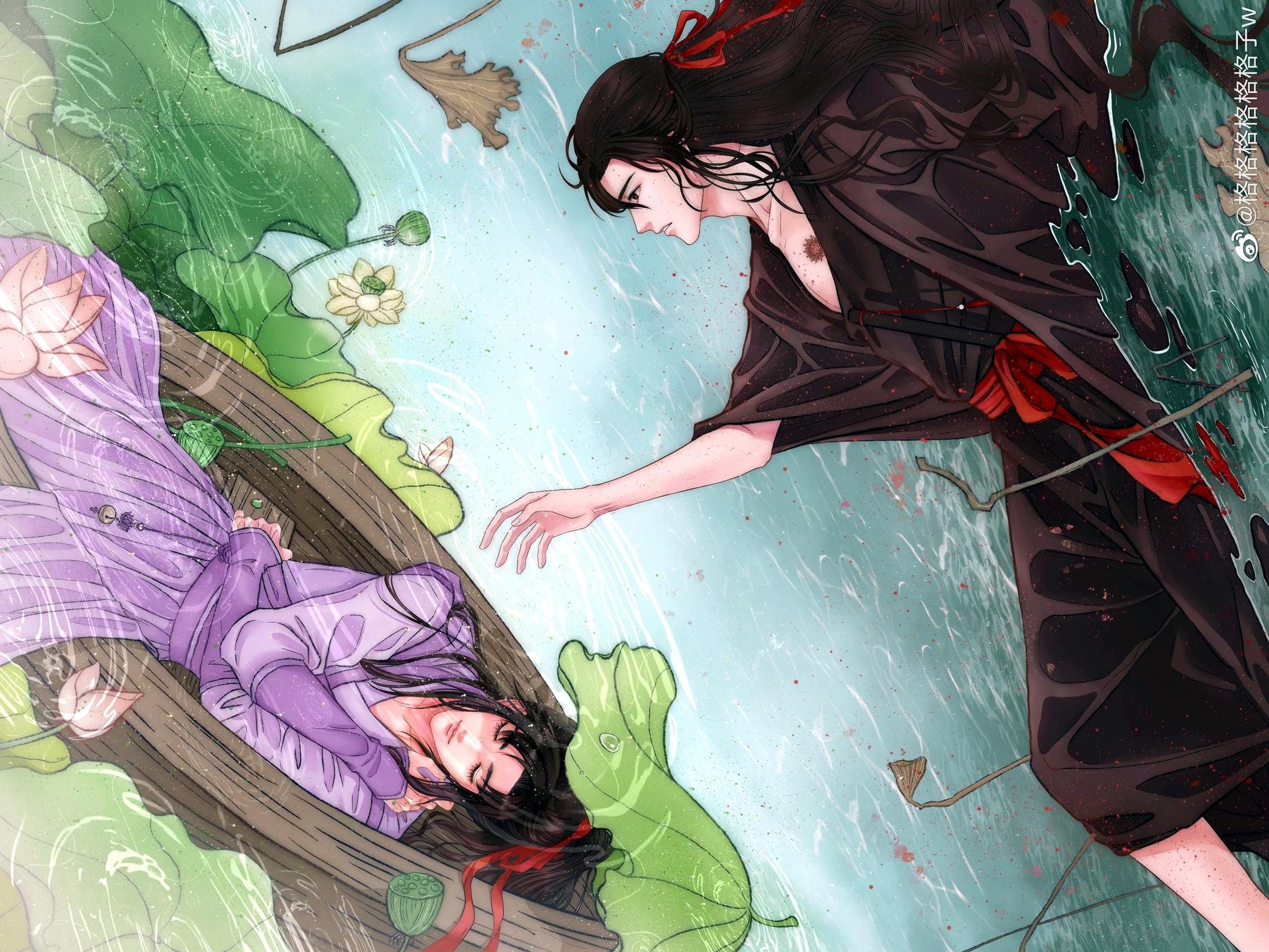 Jiang Cheng Jiang Wanyin Wei Ying Wei Wuxian 2160x1620