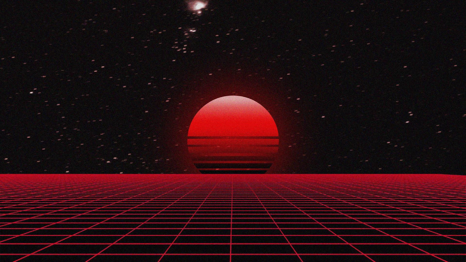 Vaporwave Synthwave 1920x1080