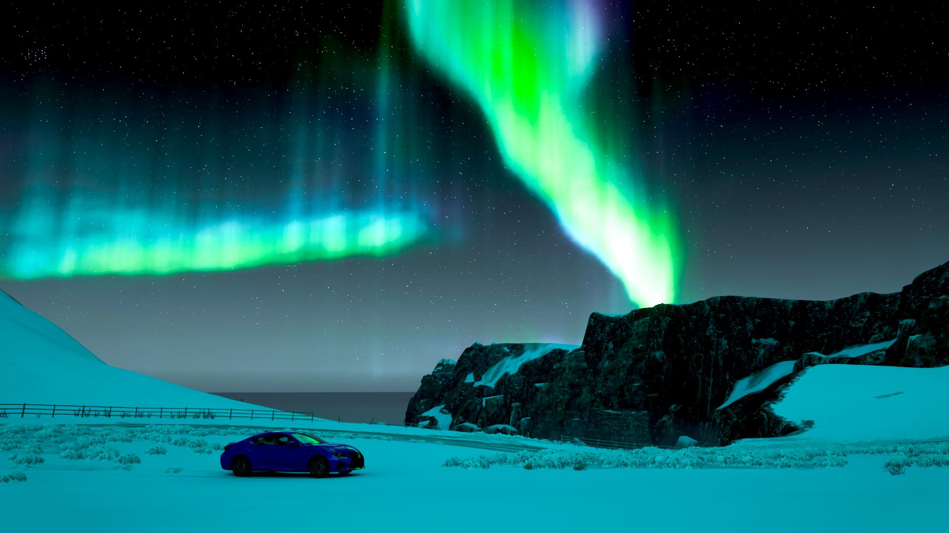 Forza Horizon 4 Aurora Car Video Games Blue Cars Vehicle 1920x1080