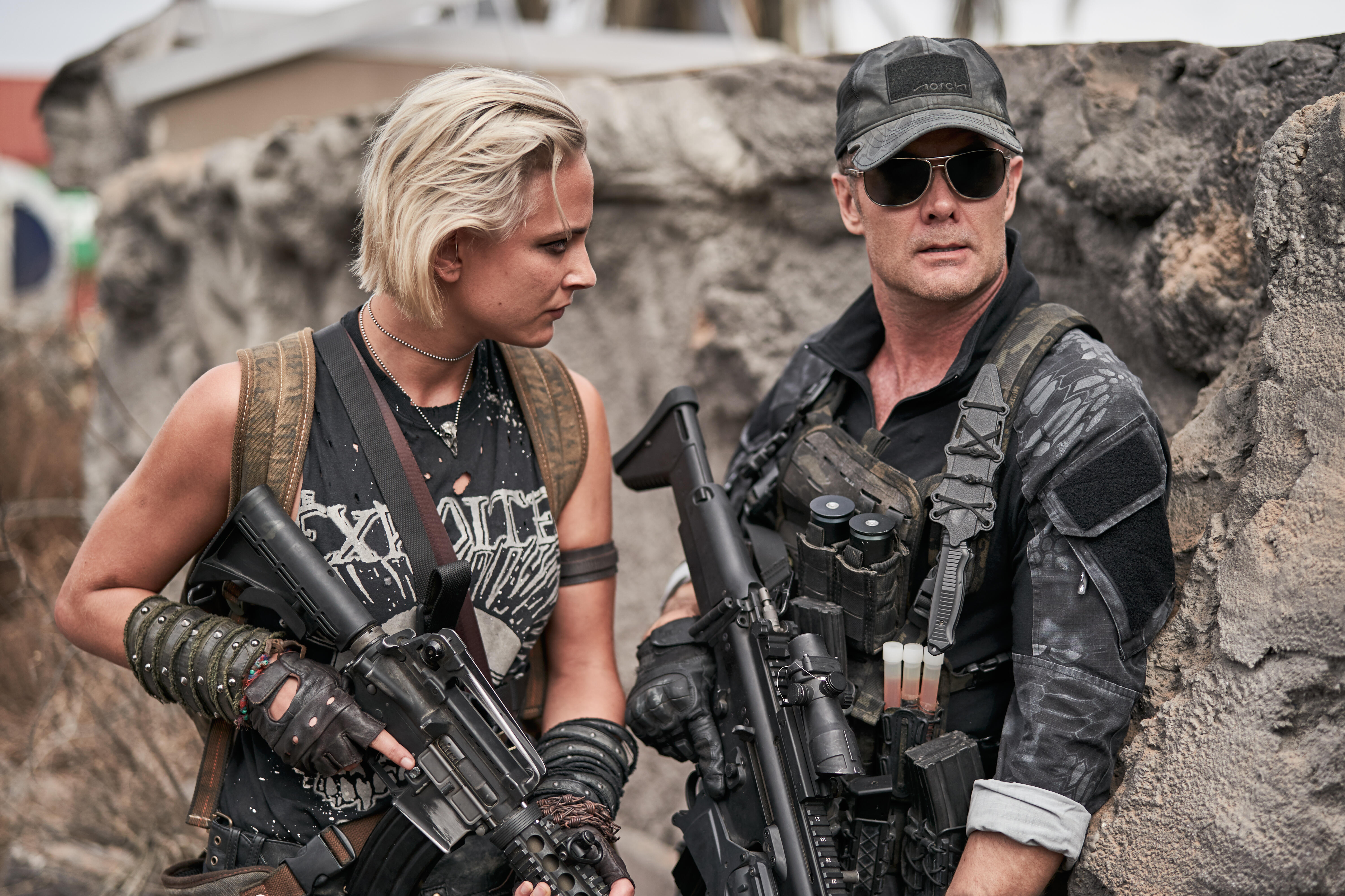 Army Of The Dead 2021 Nora Arnezeder Lilly Army Of The Dead Garret Dillahunt Frank Peters 6000x4000