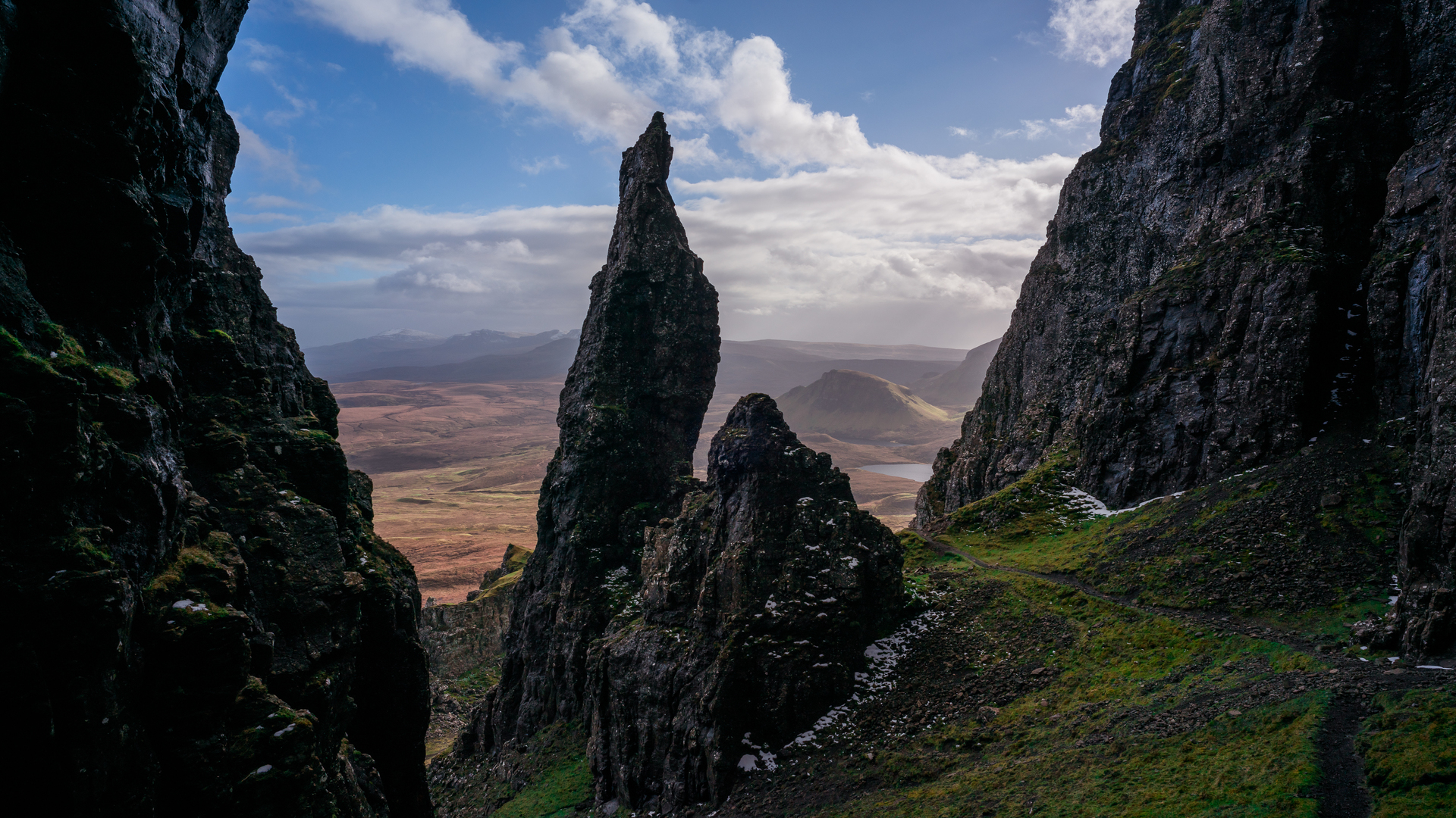 Isle Of Skye Scotland Rock 1920x1080