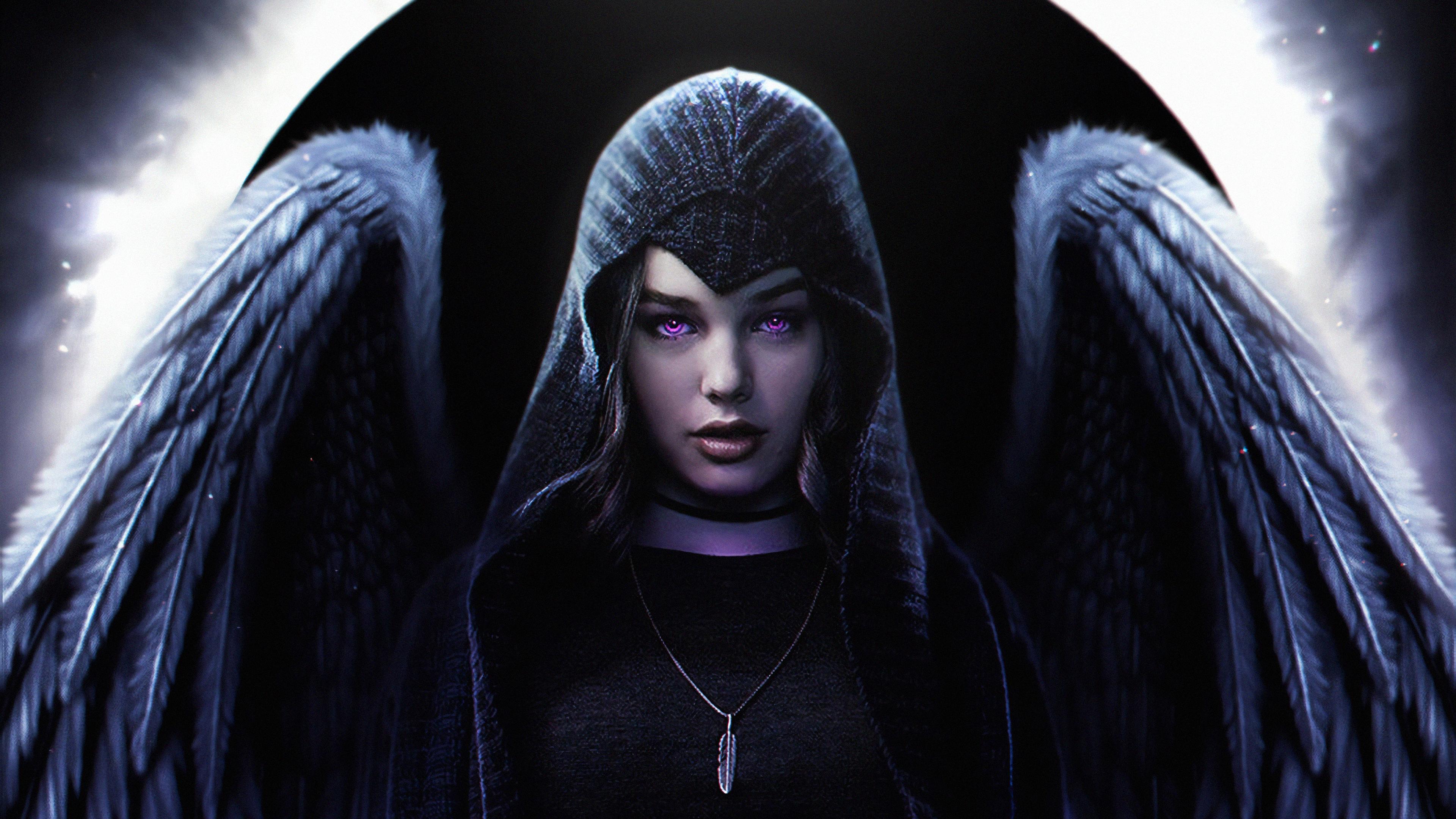 Raven Teen Titans Teagan Croft DC Universe 3840x2160