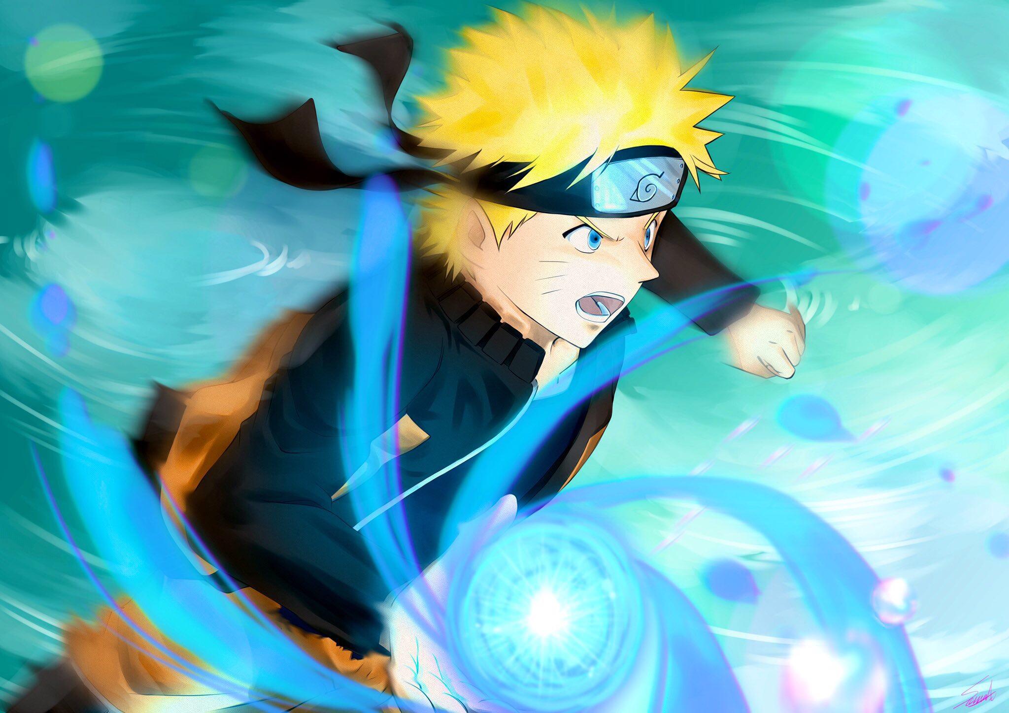 Naruto Uzumaki Rasengan Naruto 2048x1448