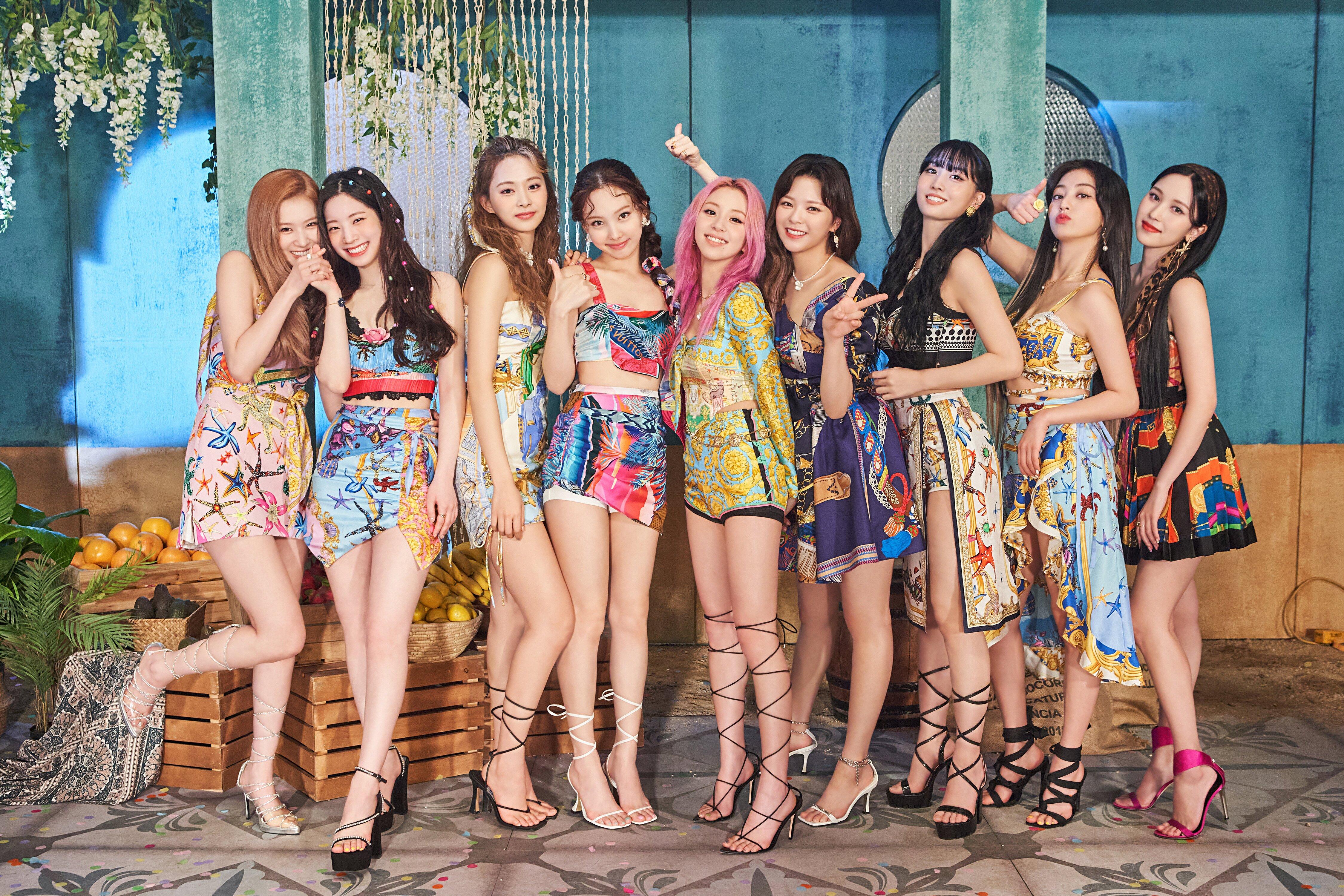 Twice Im Nayeon Twice Nayeon Twice JeongYeon Twice Jihyo Kim Dahyun Twice Dahyun Momo Twice Mina Sha 4499x3000