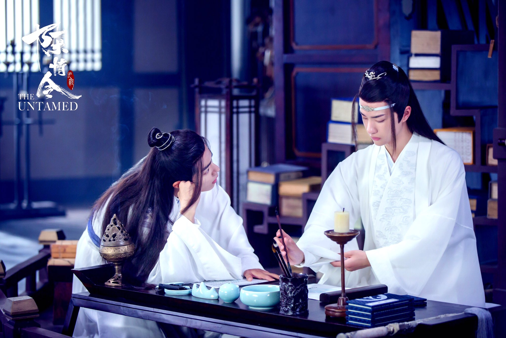 Wei Wuxian Wei Ying Lan Wangji Lan Zhan Xiao Zhan Wang Yibo 2048x1366