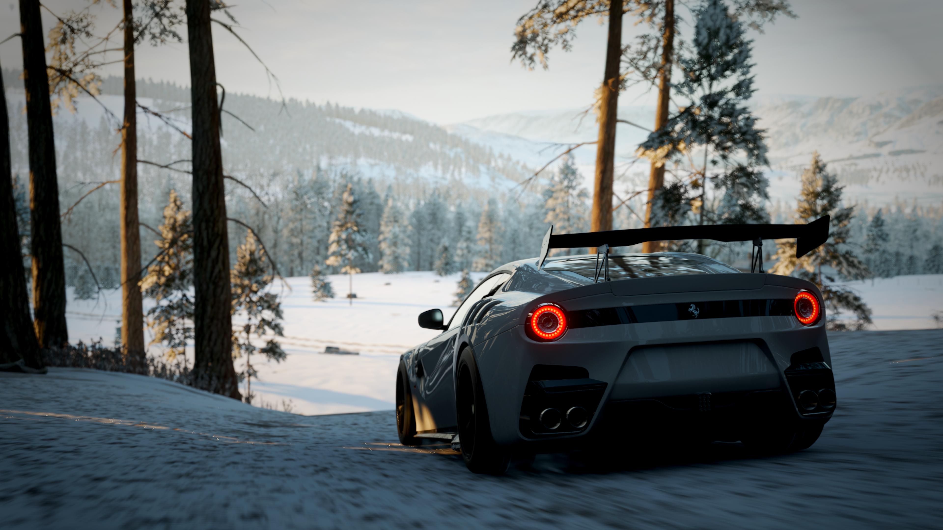 Forza Forza Horizon 4 Forza Horizon Car Racing Cinematic Supercars Hypercar Koenigsegg Ferrari Pagan 3840x2160