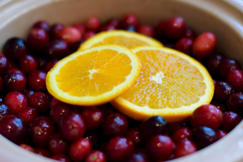 Berry Orange Fruit 6000x4000