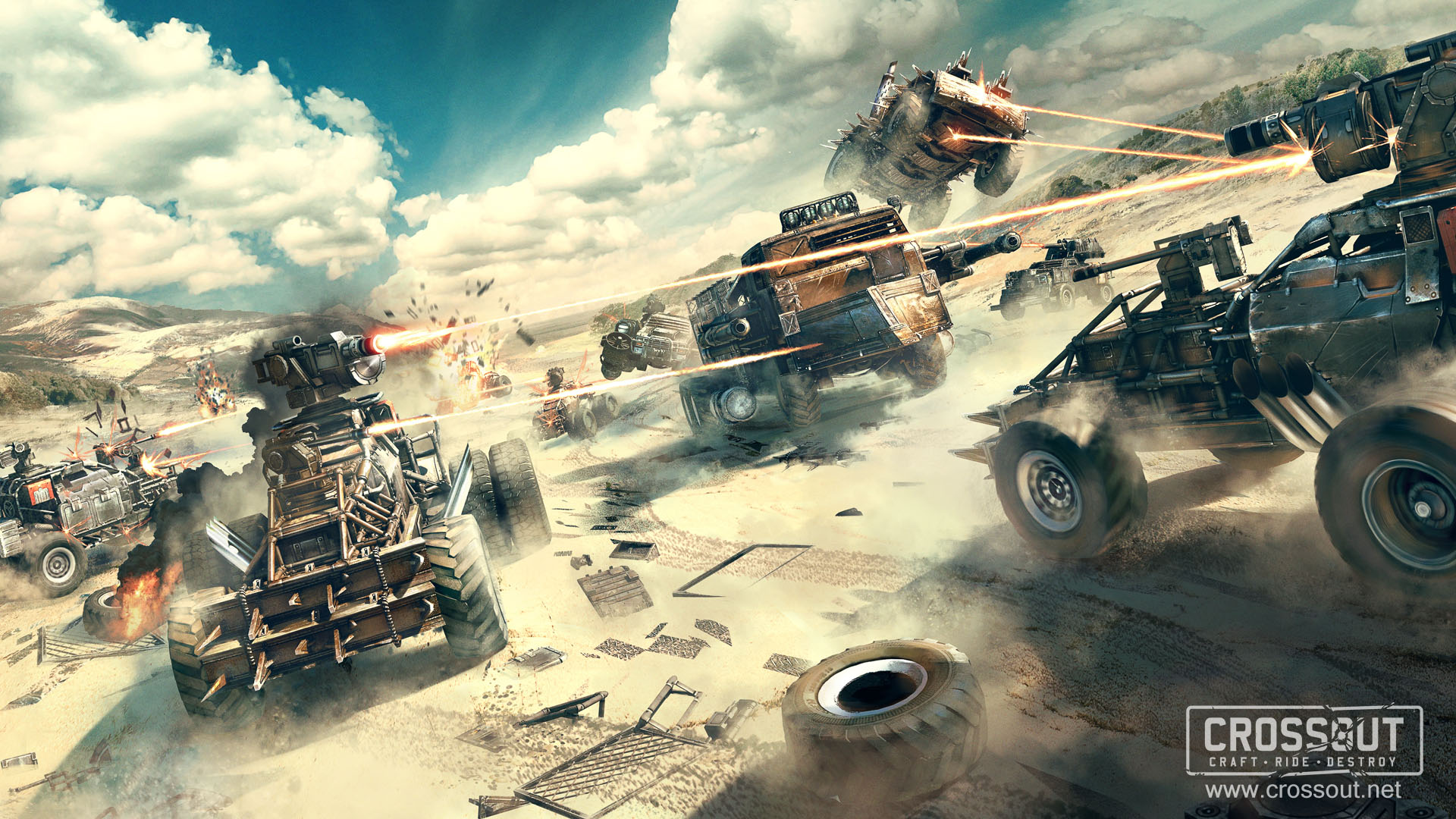 Video Game Crossout 1920x1080
