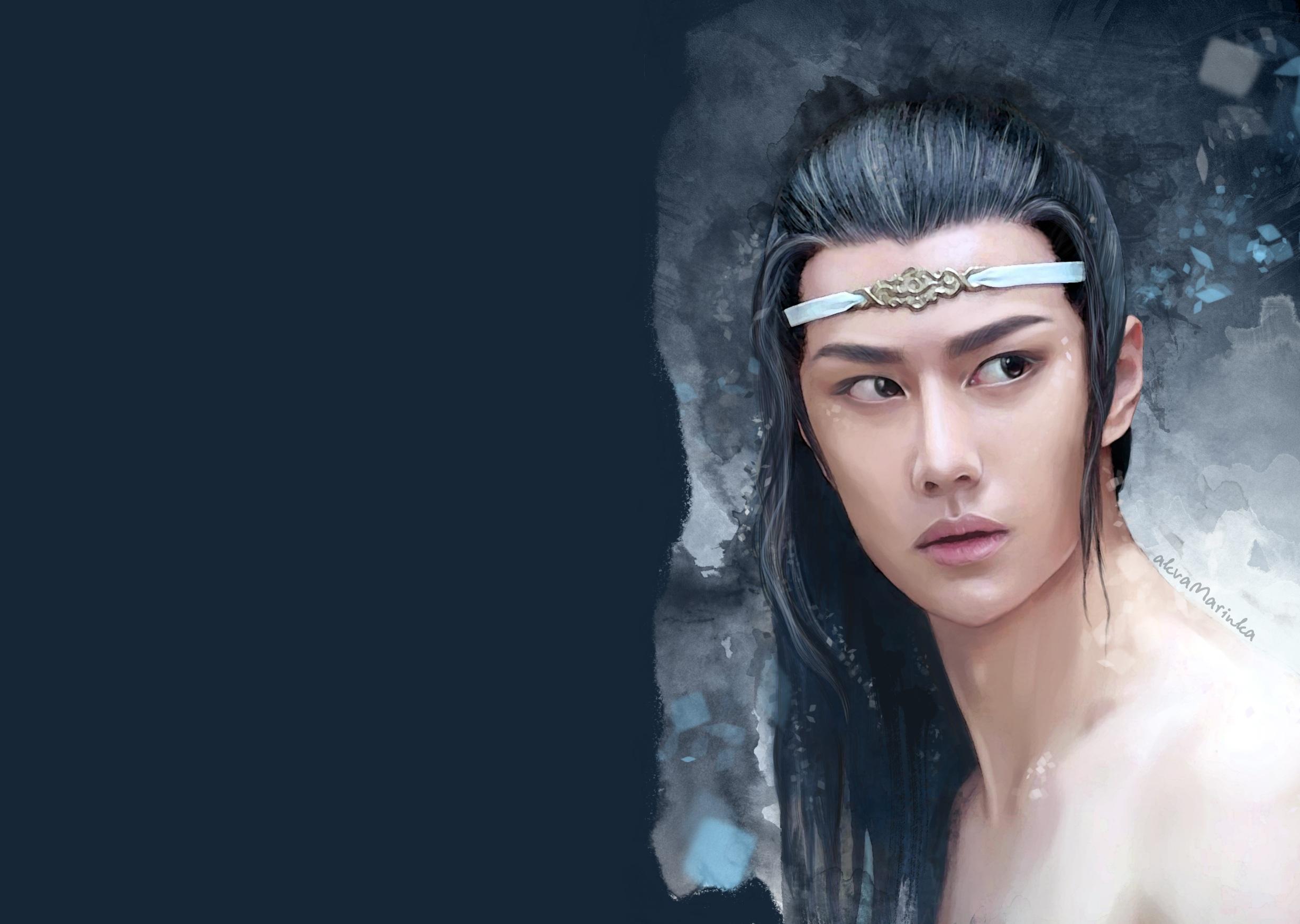 Lan Wangji Lan Zhan Wang Yibo 2458x1748