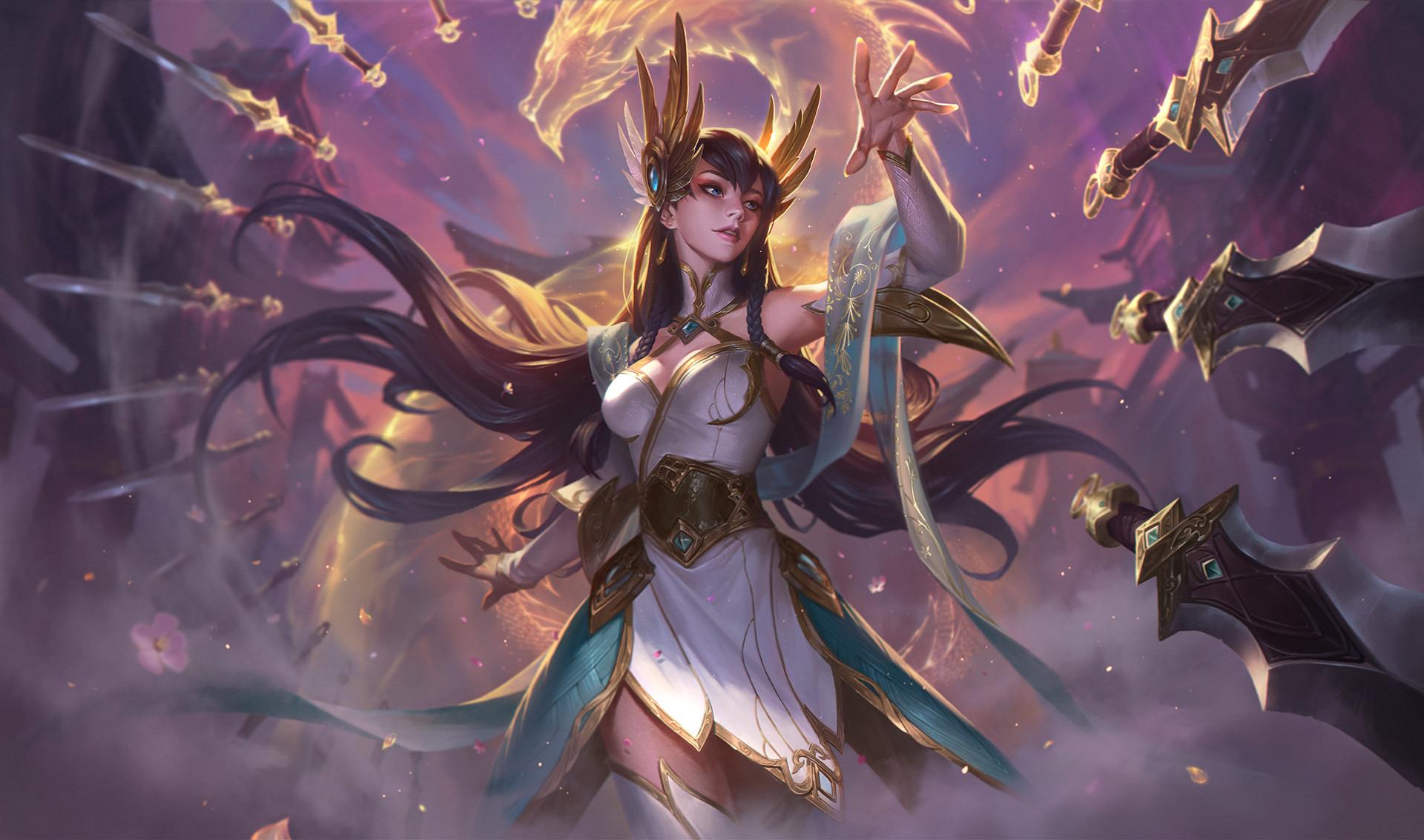 Irelia League Of Legends 1920x1133