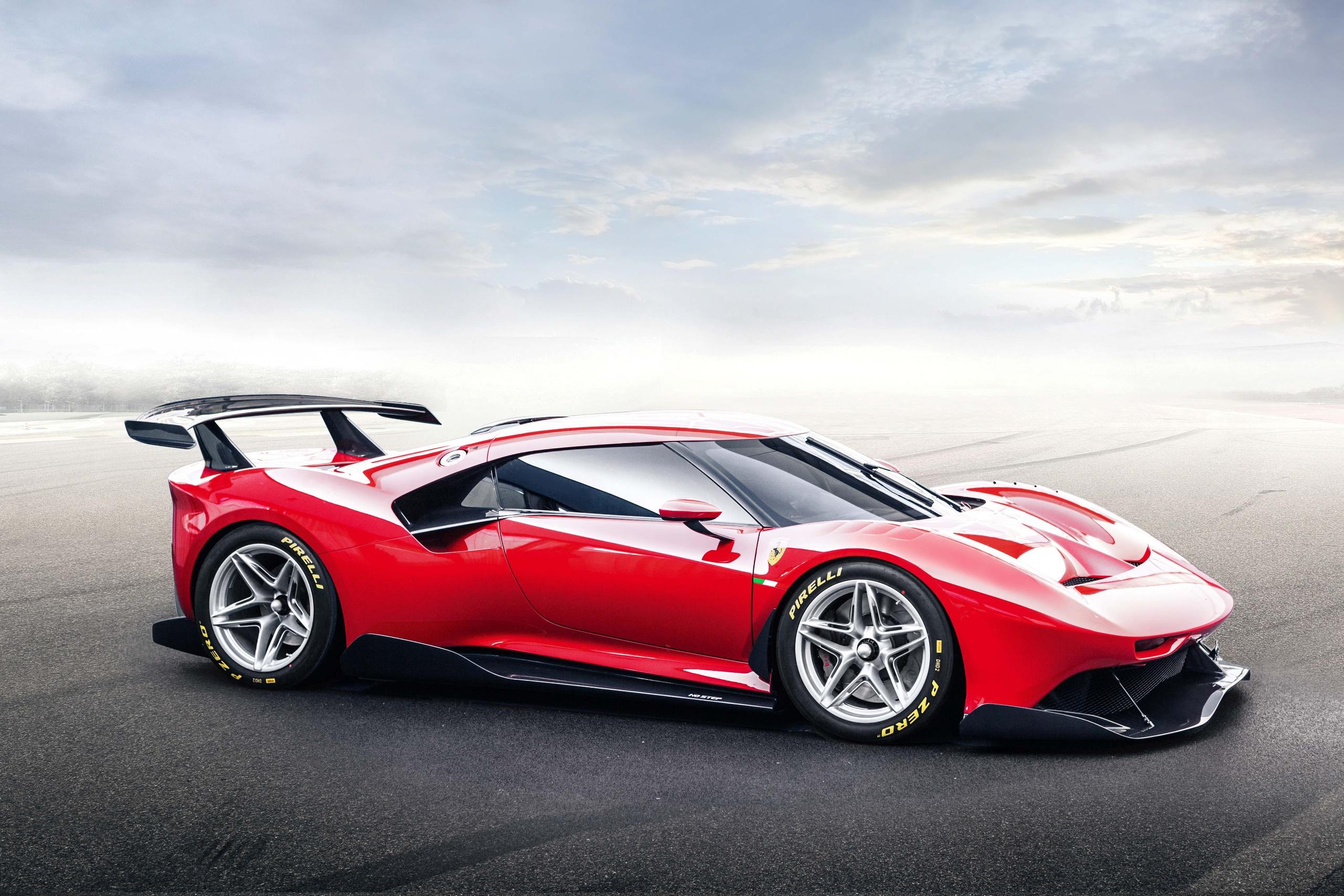 Ferrari Supercars Car Vehicle Red Cars Ferrari P80 C 2560x1707