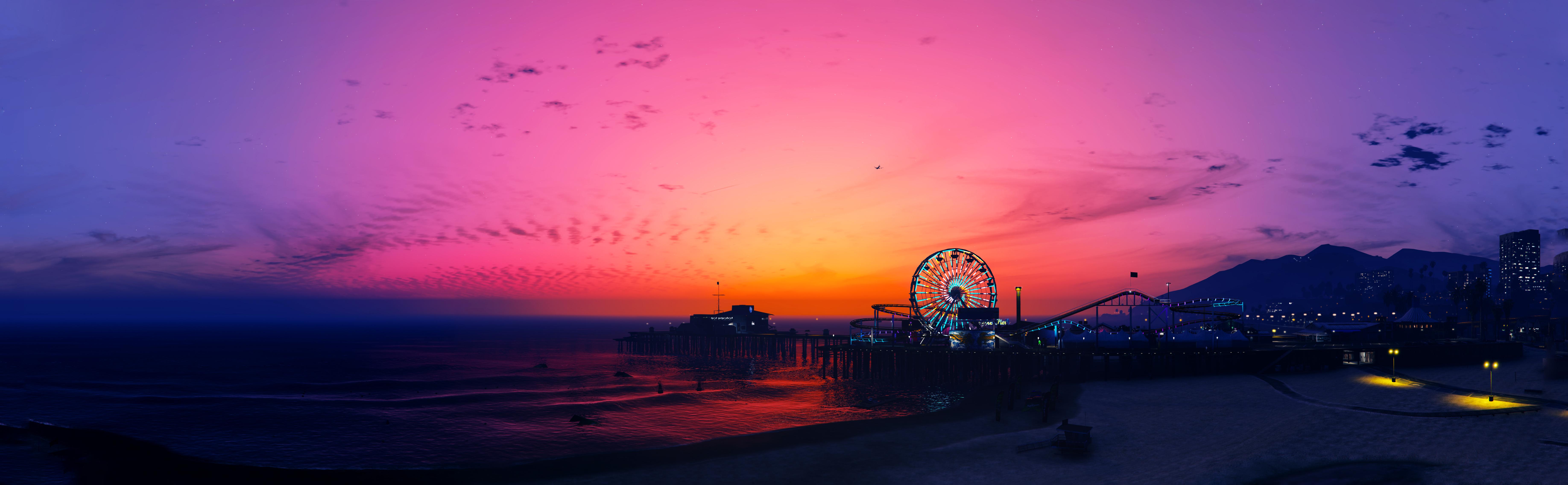 Video Game Grand Theft Auto V 7344x2274