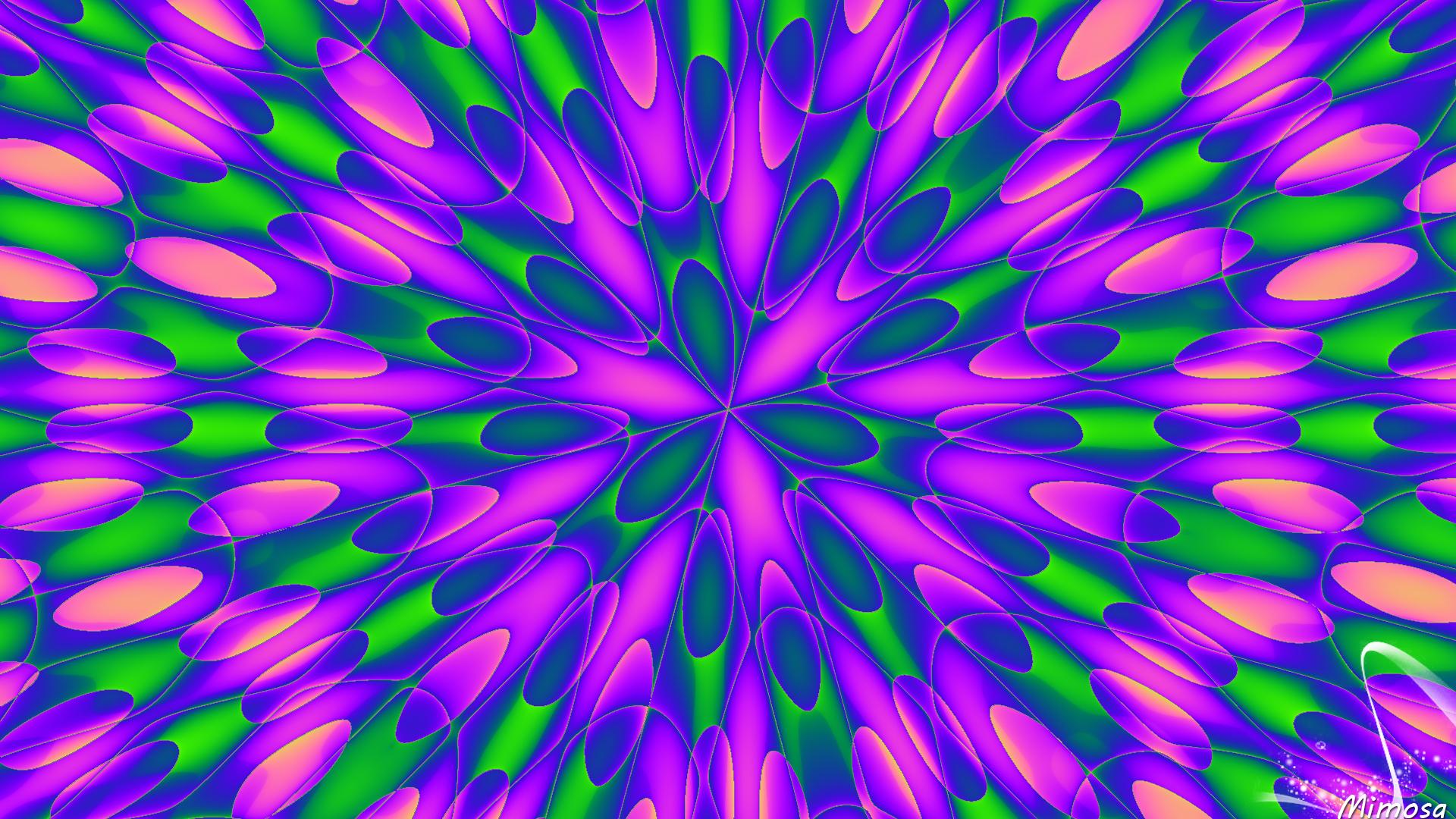 Artistic Digital Art Colors Pattern Colorful 1920x1080
