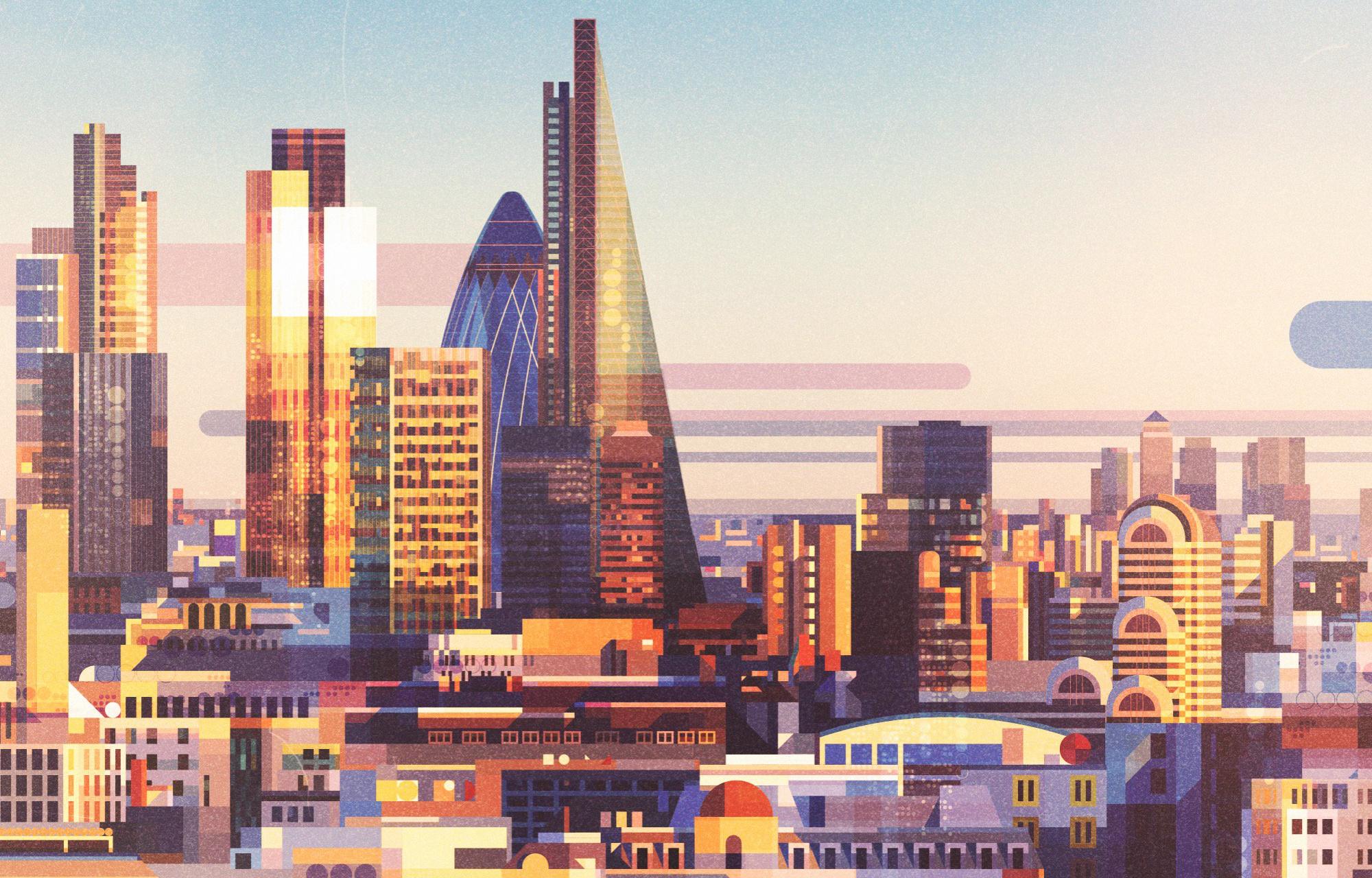 England City Building Architecture Artistic 2000x1280